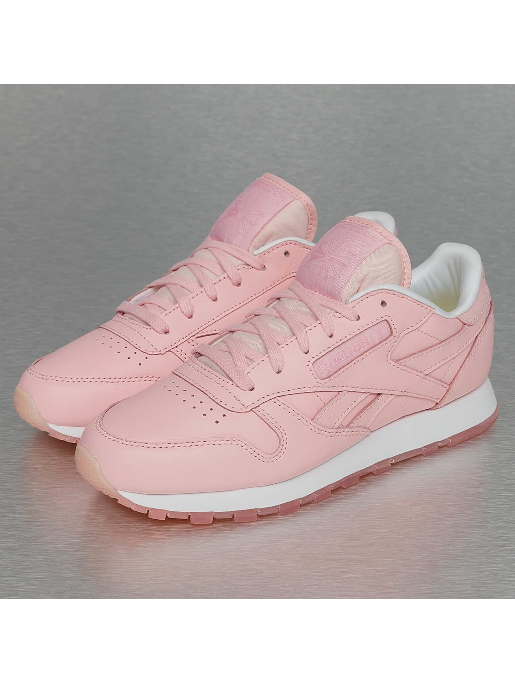 Sneaker CL Leather Face in rosa