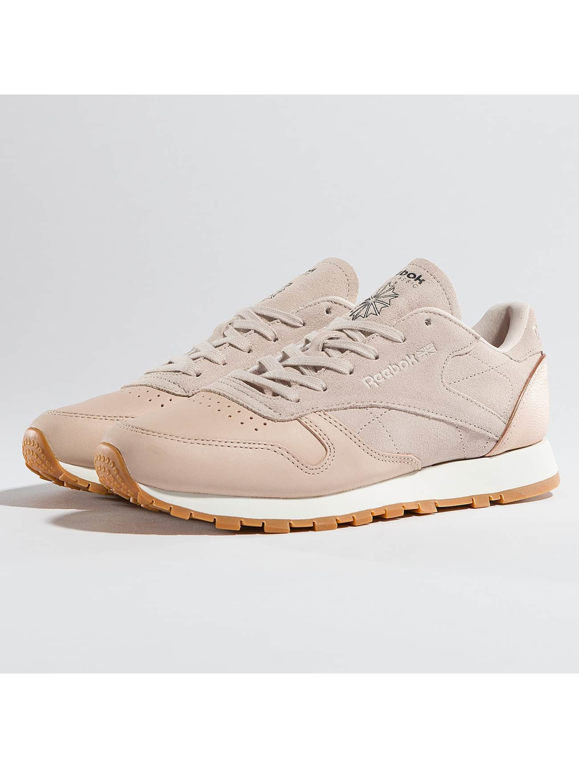 Sneaker Leather Golden Neutrals in rosa