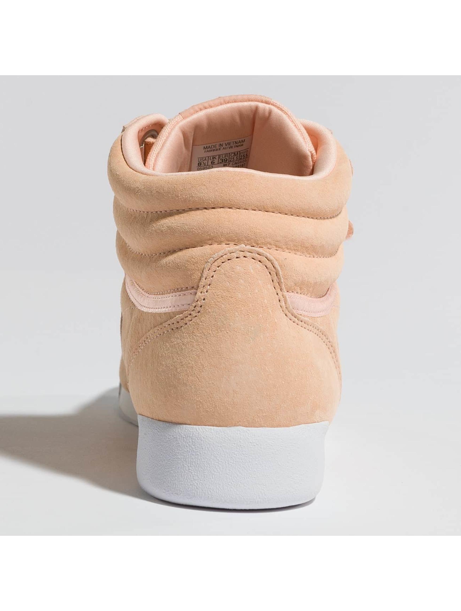 Reebok Sneaker Freestyle Hi Nubuk rosa