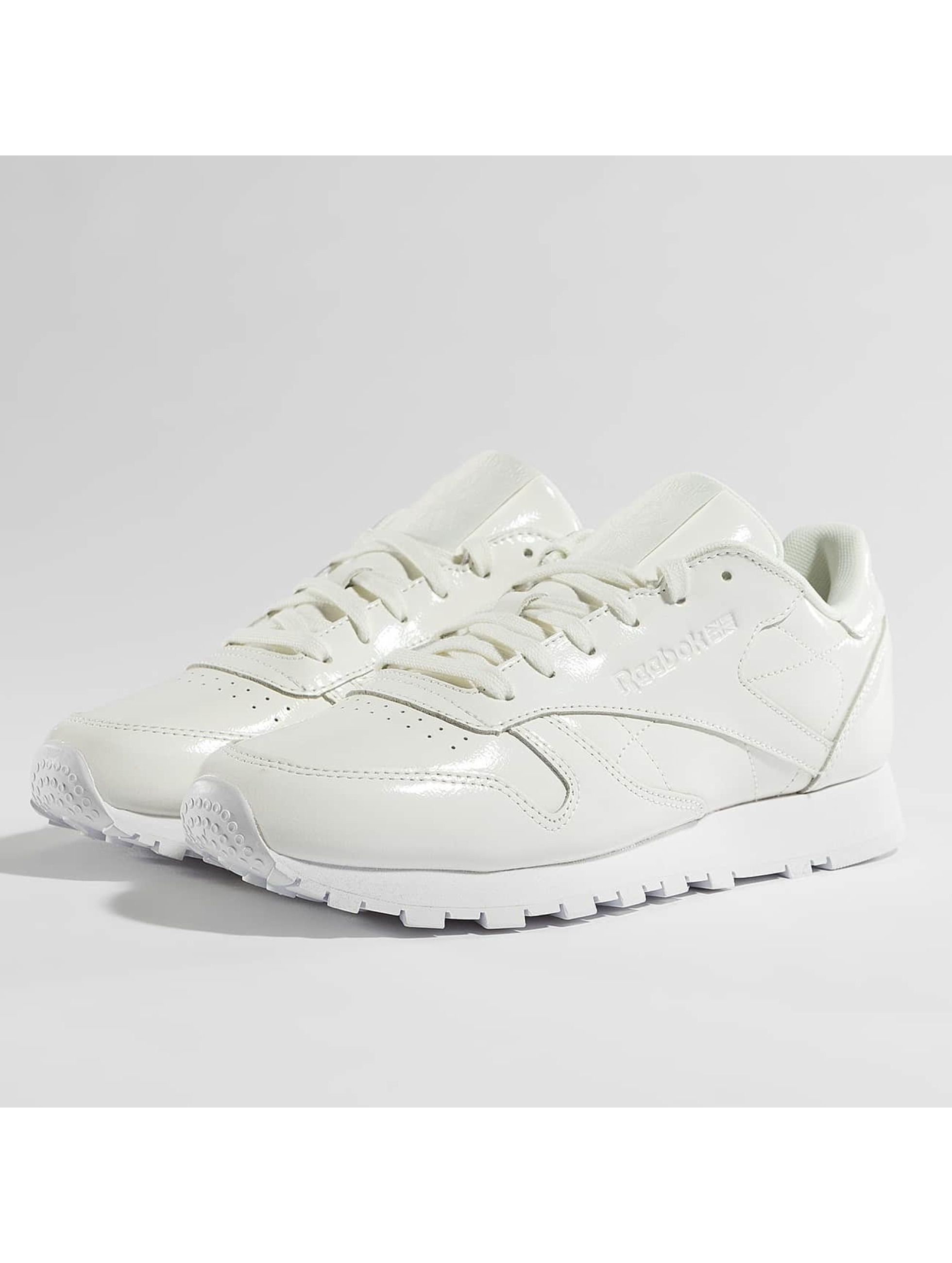 Reebok Sneaker Classic Leather Patent weiß