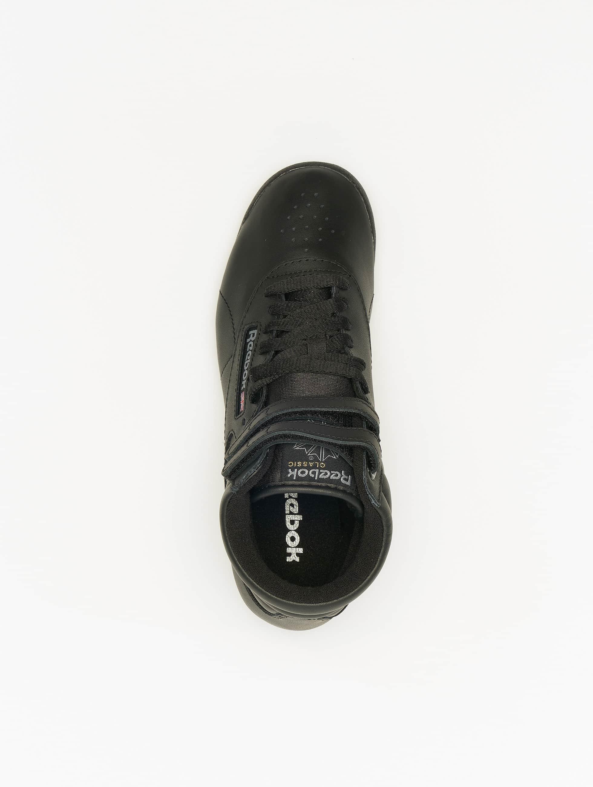 Reebok Sneakers Freestyle Hi Basketball Shoes black