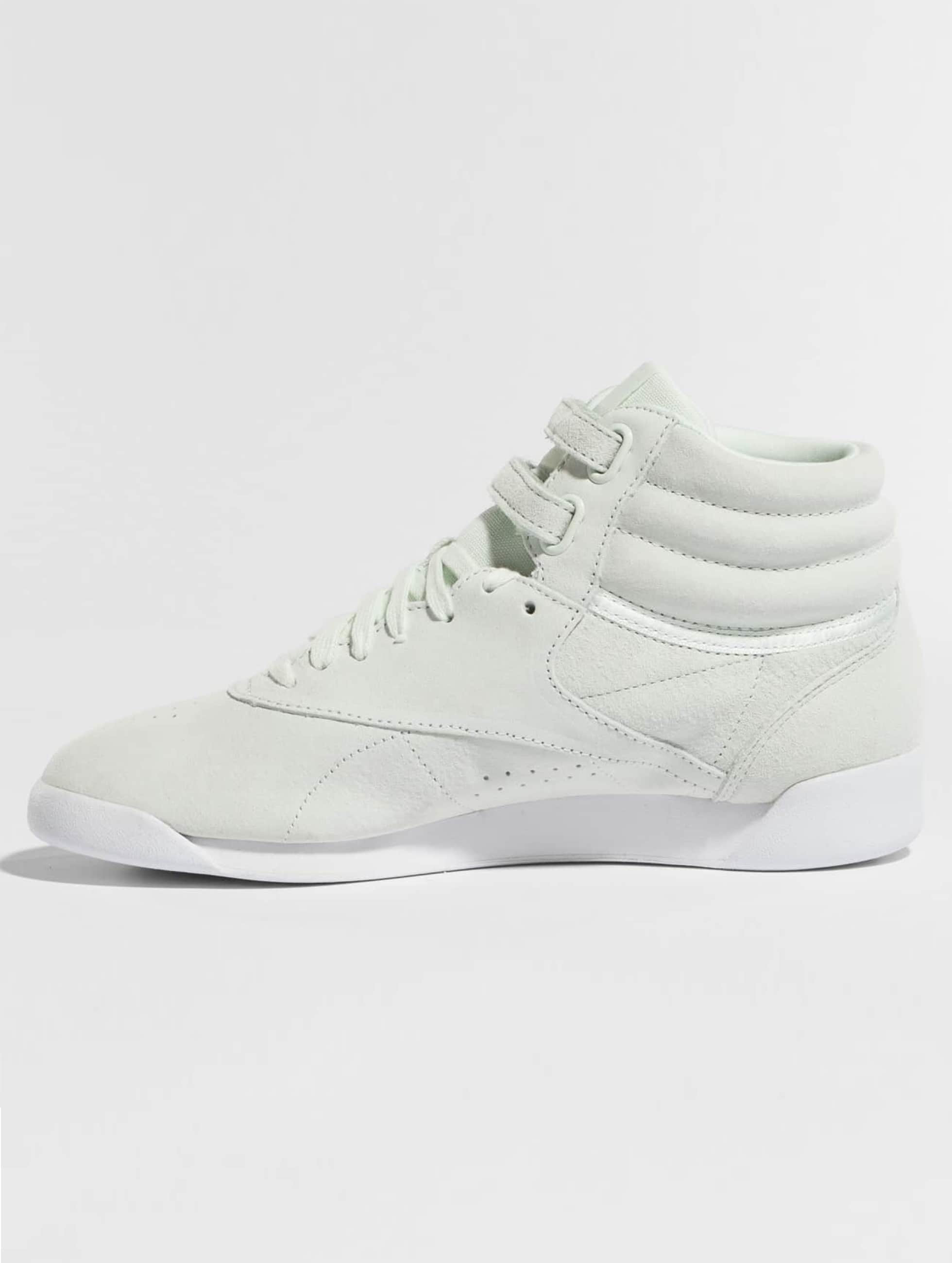 Reebok Sneakers Freestyle Hi Nubuk zelená