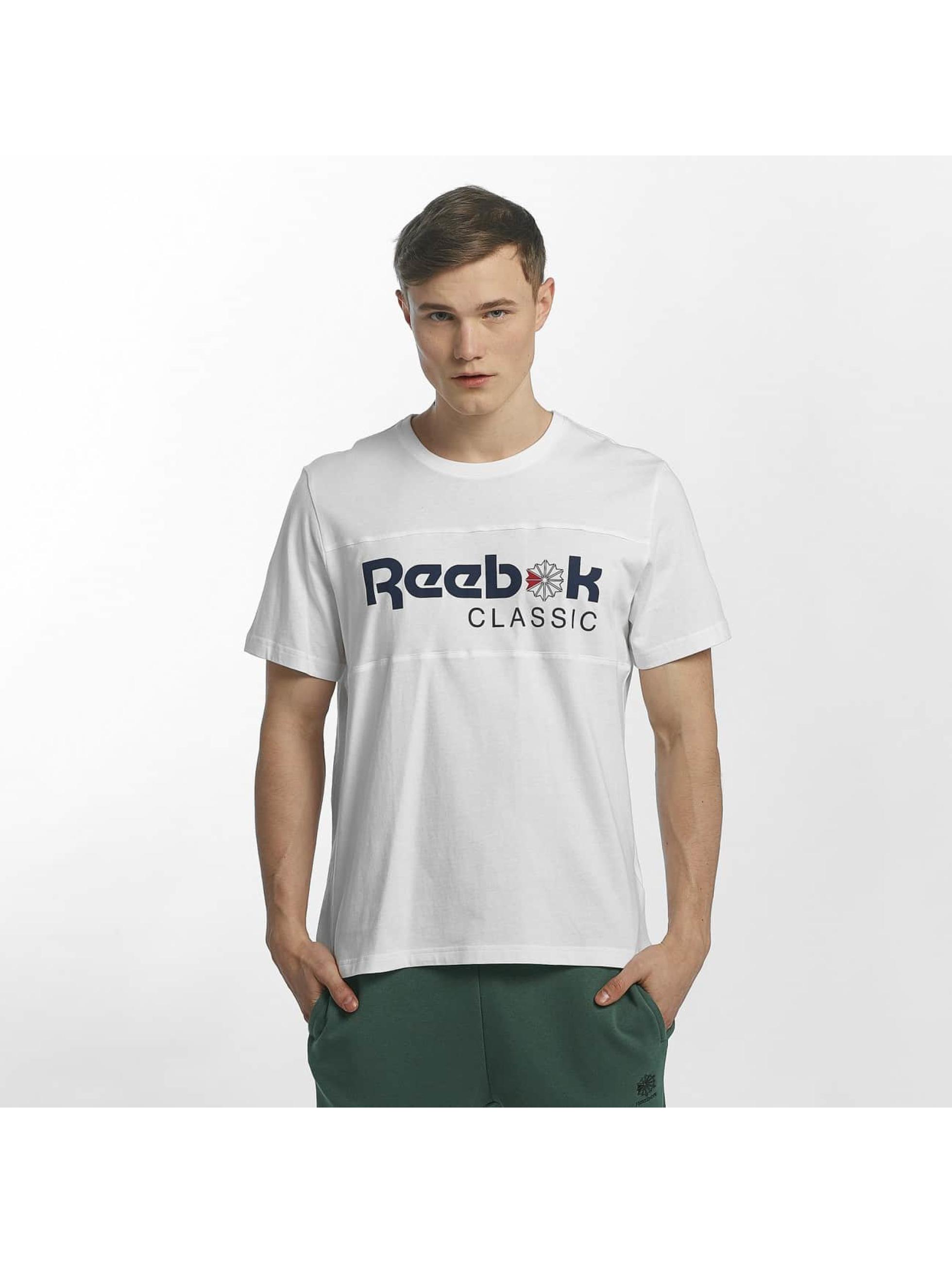 Reebok T-Shirt F Franchise Iconic weiß