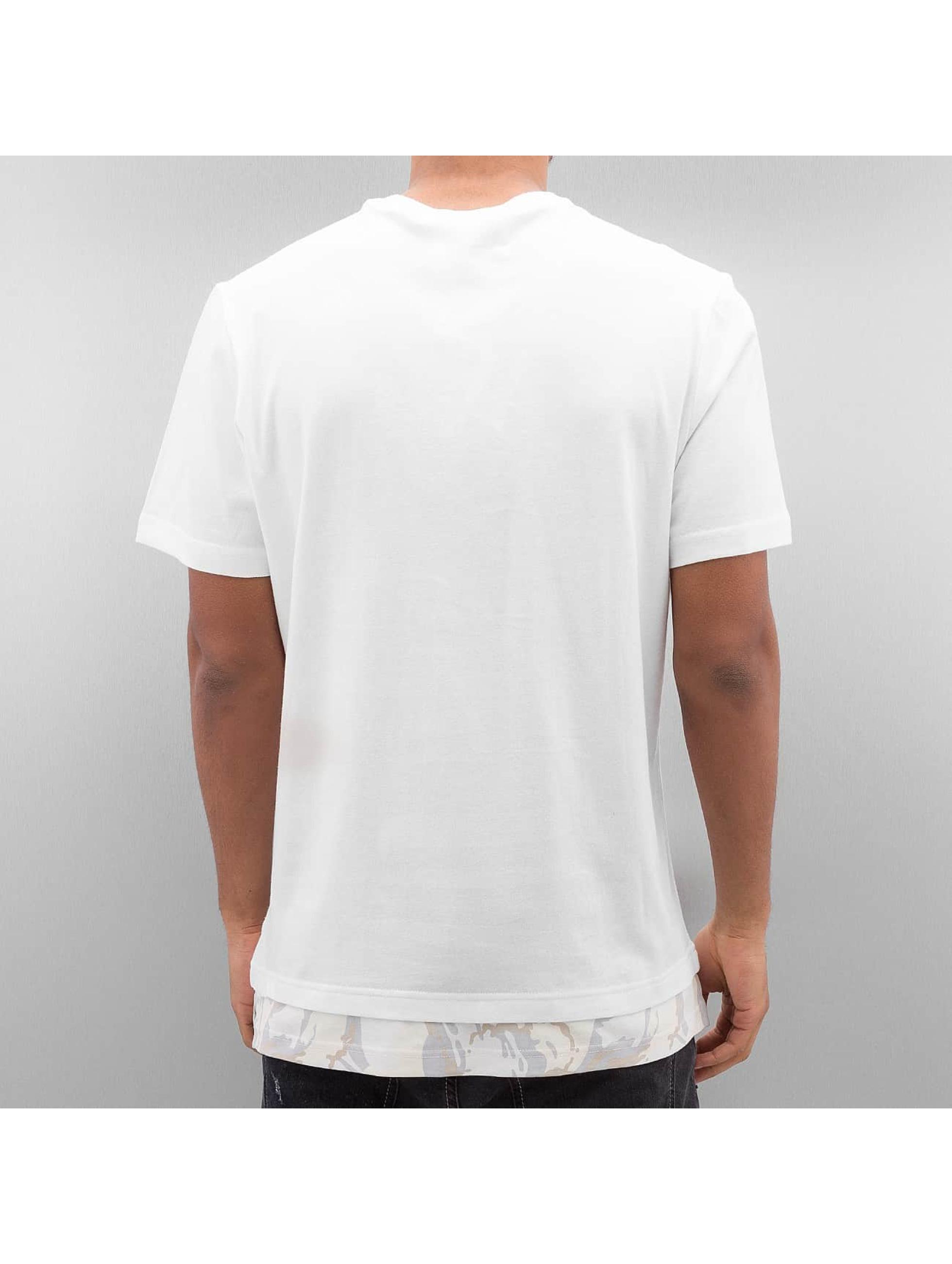 Reebok T-Shirt Layered white