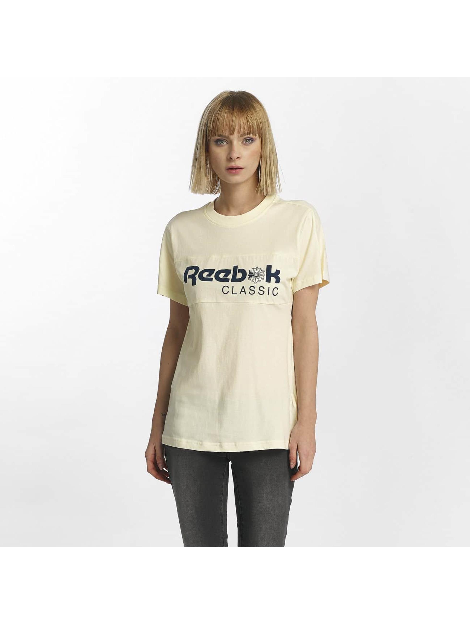 Reebok T-skjorter F Classic hvit