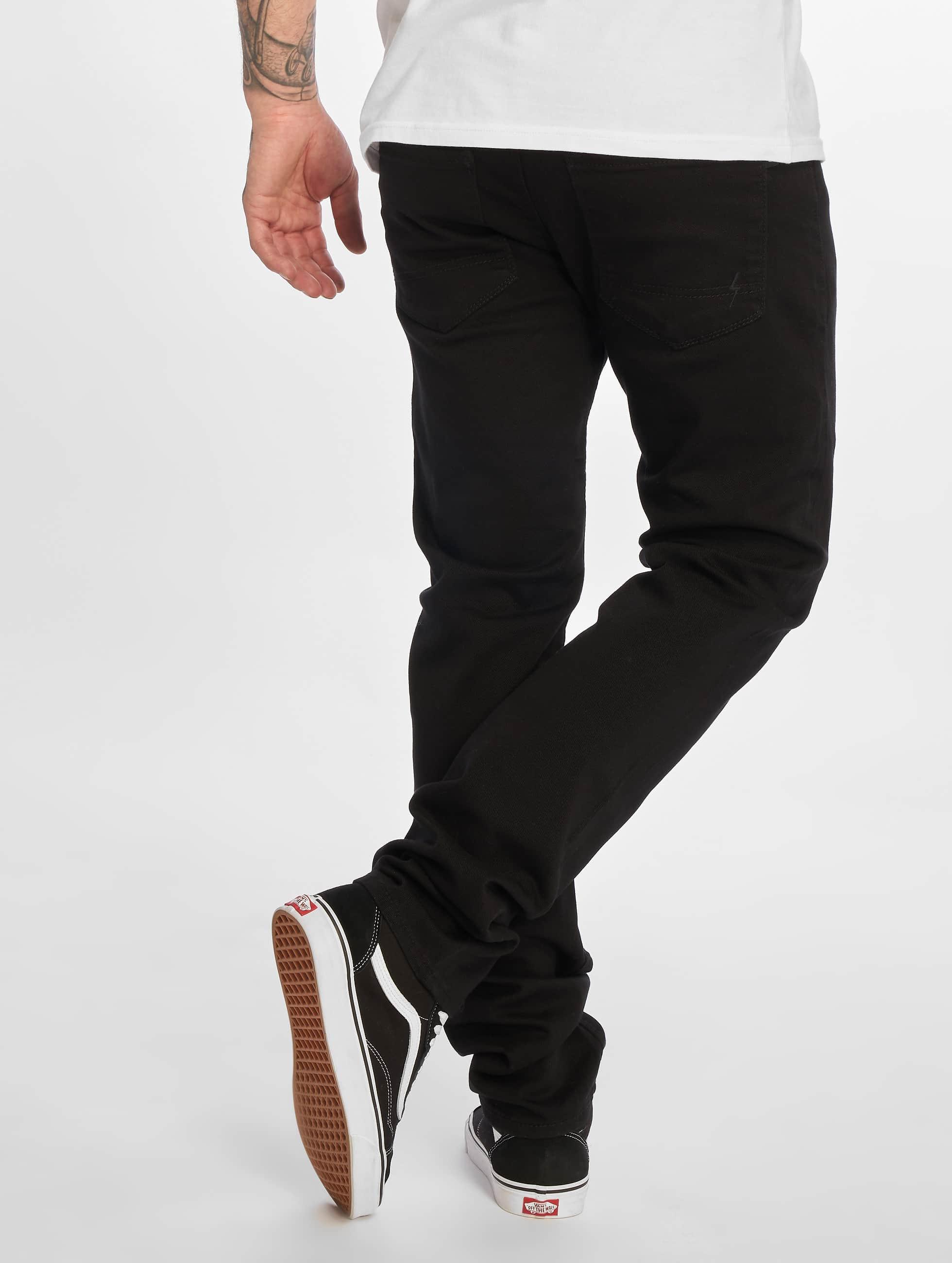 Reell Jeans Úzke/Streč Skin II èierna