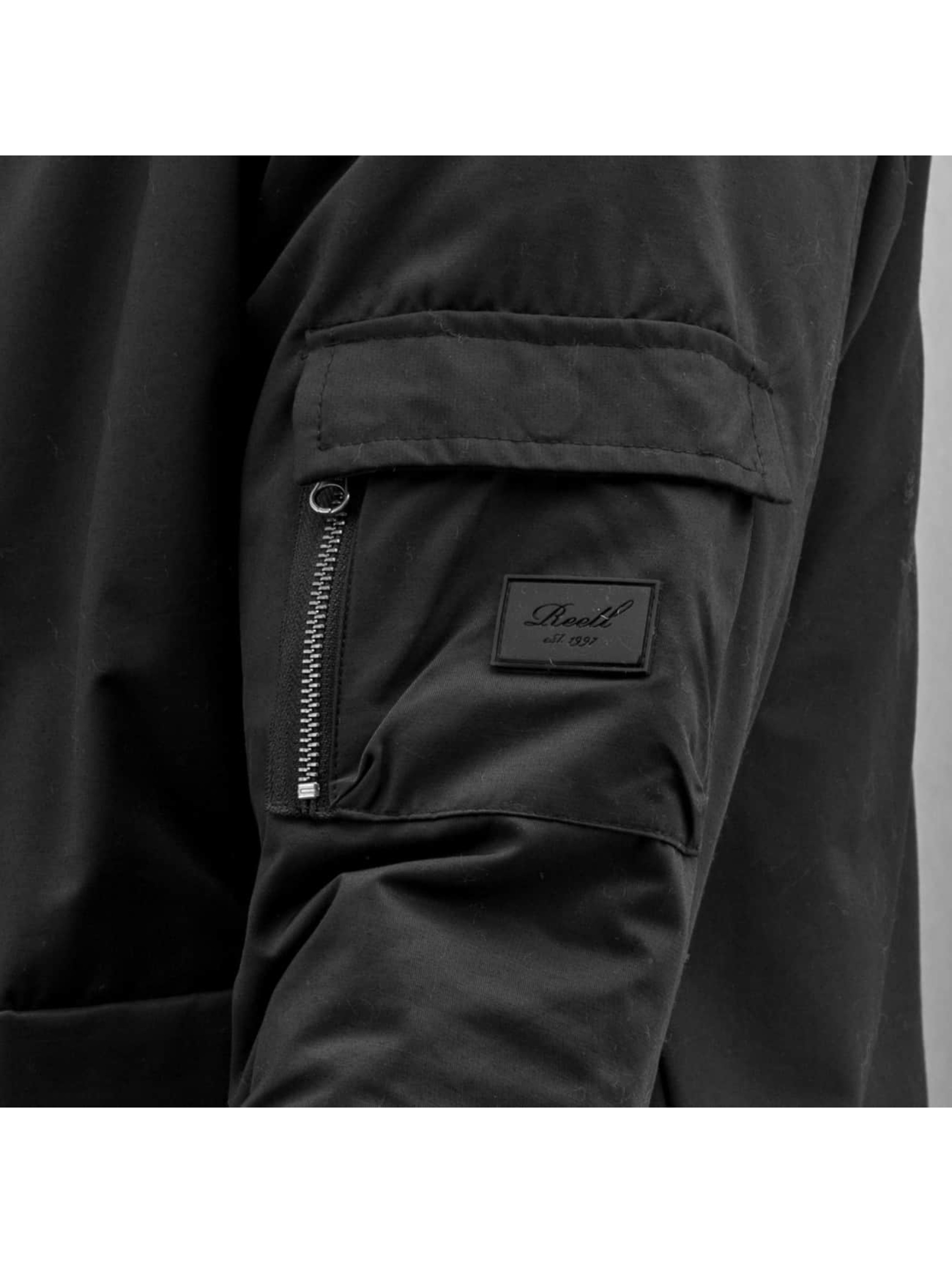 Reell Jeans Демисезонная куртка Blouson черный