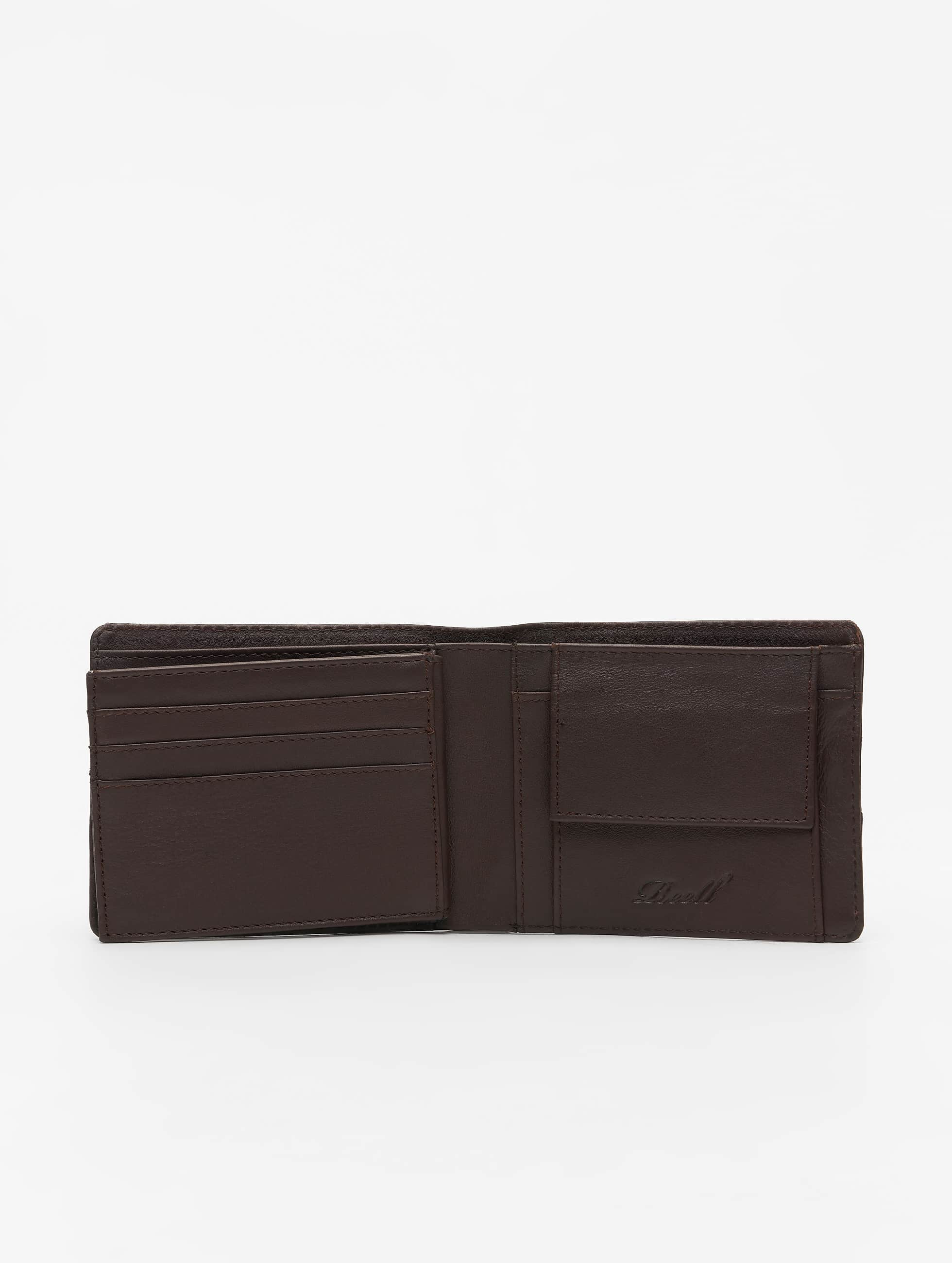 Reell Jeans Кошелёк Strap Leather коричневый