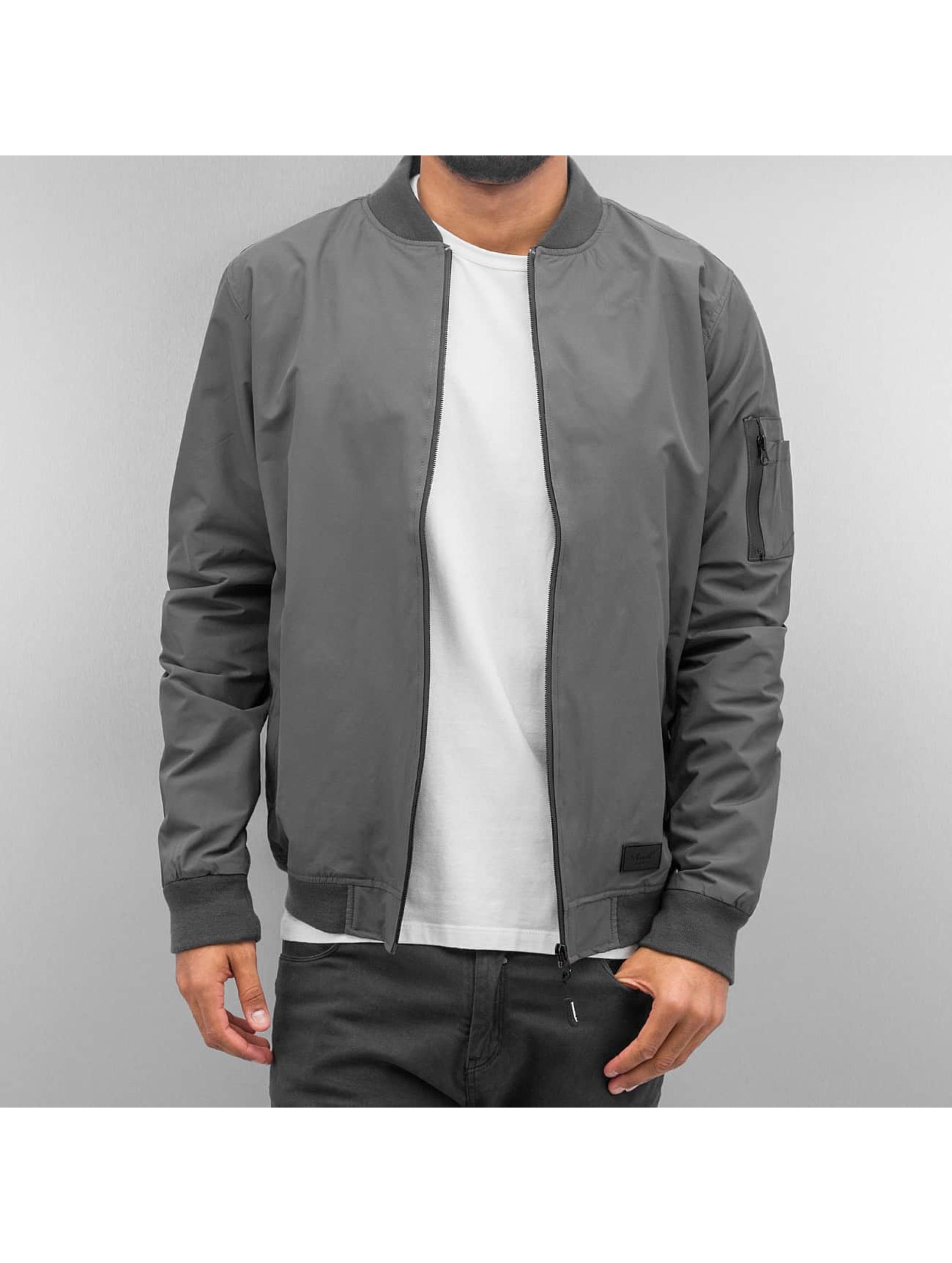 Reell Jeans Куртка-бомбардир Technical серый