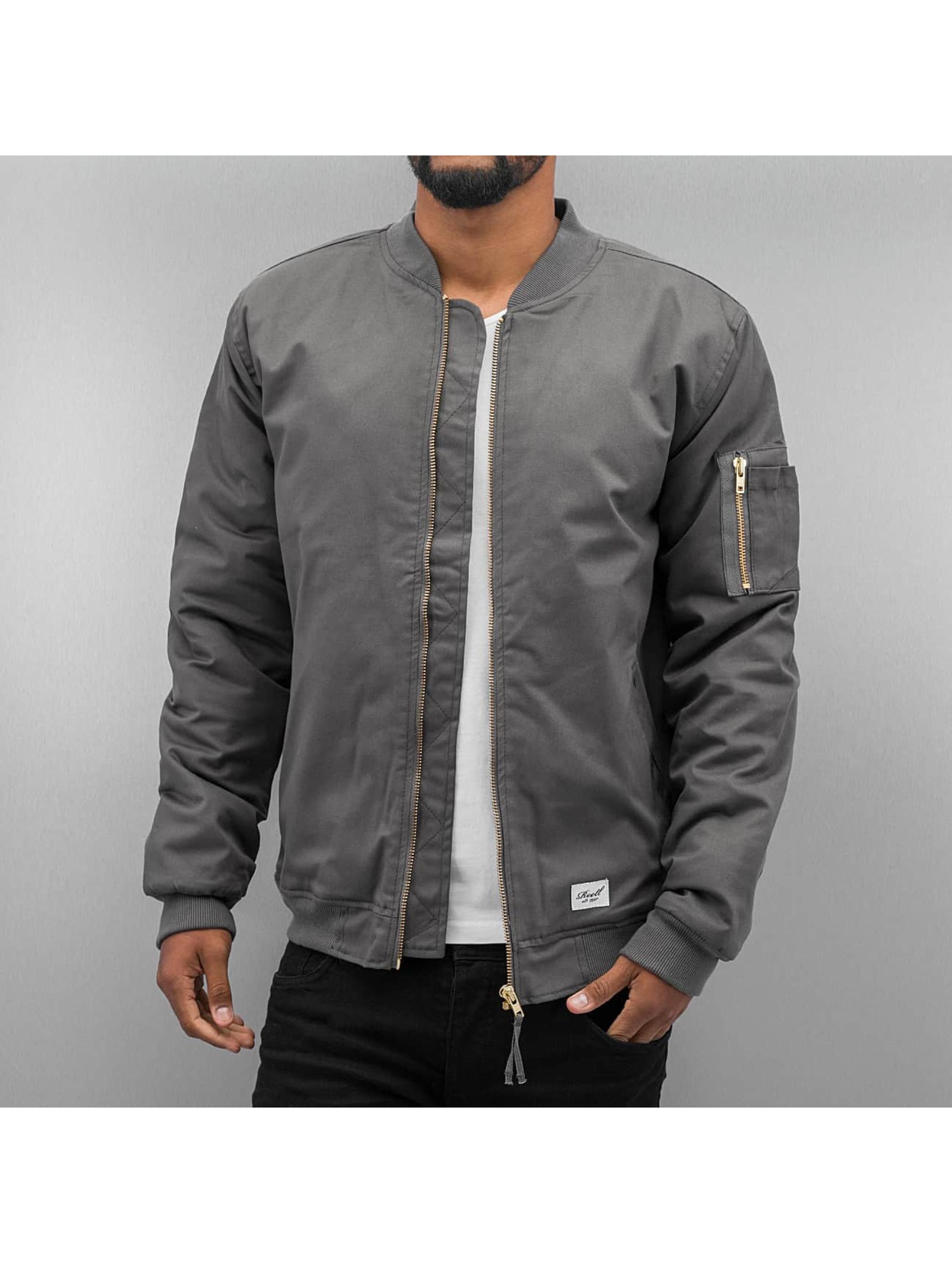 Reell Jeans Куртка-бомбардир Padded Flight серый