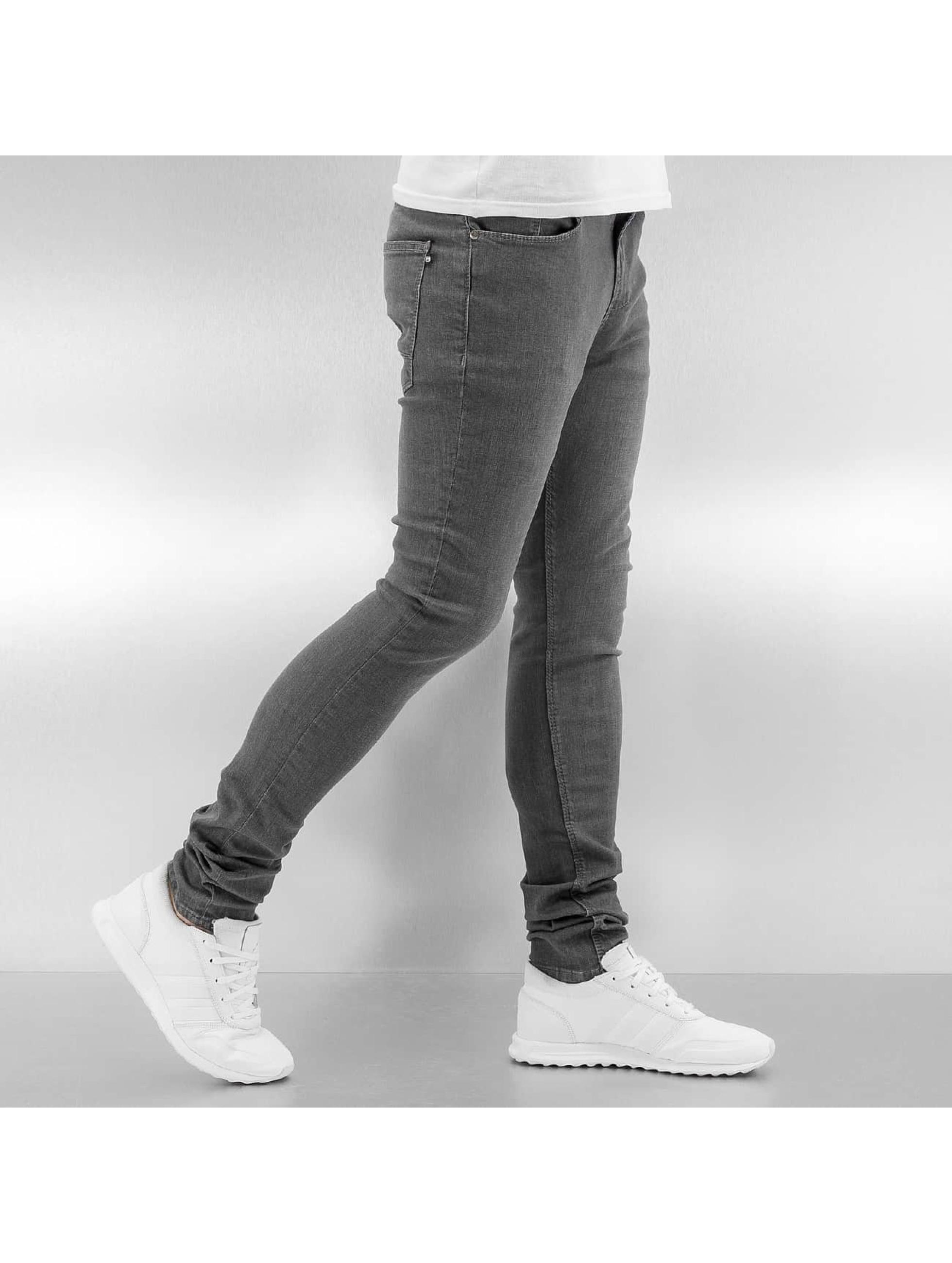 Reell Jeans Облегающие джинсы Radar Stretch Super Slim Fit серый