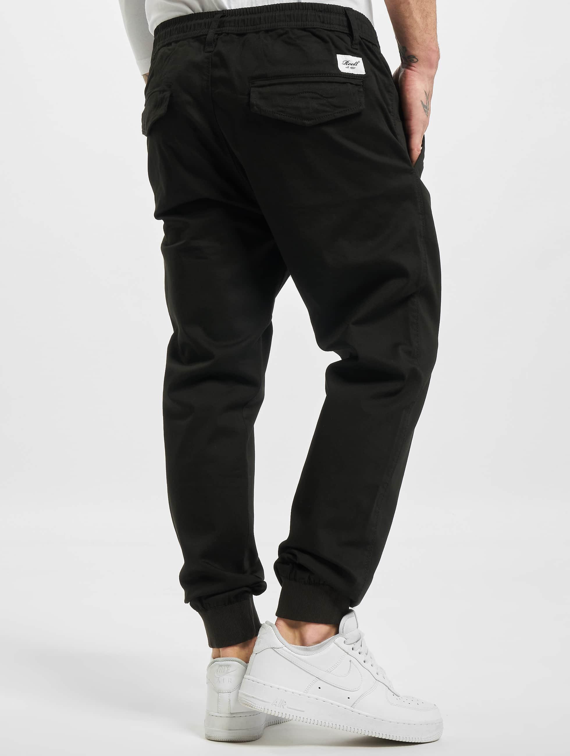 Reell Jeans Спортивные брюки Reflex Rib черный