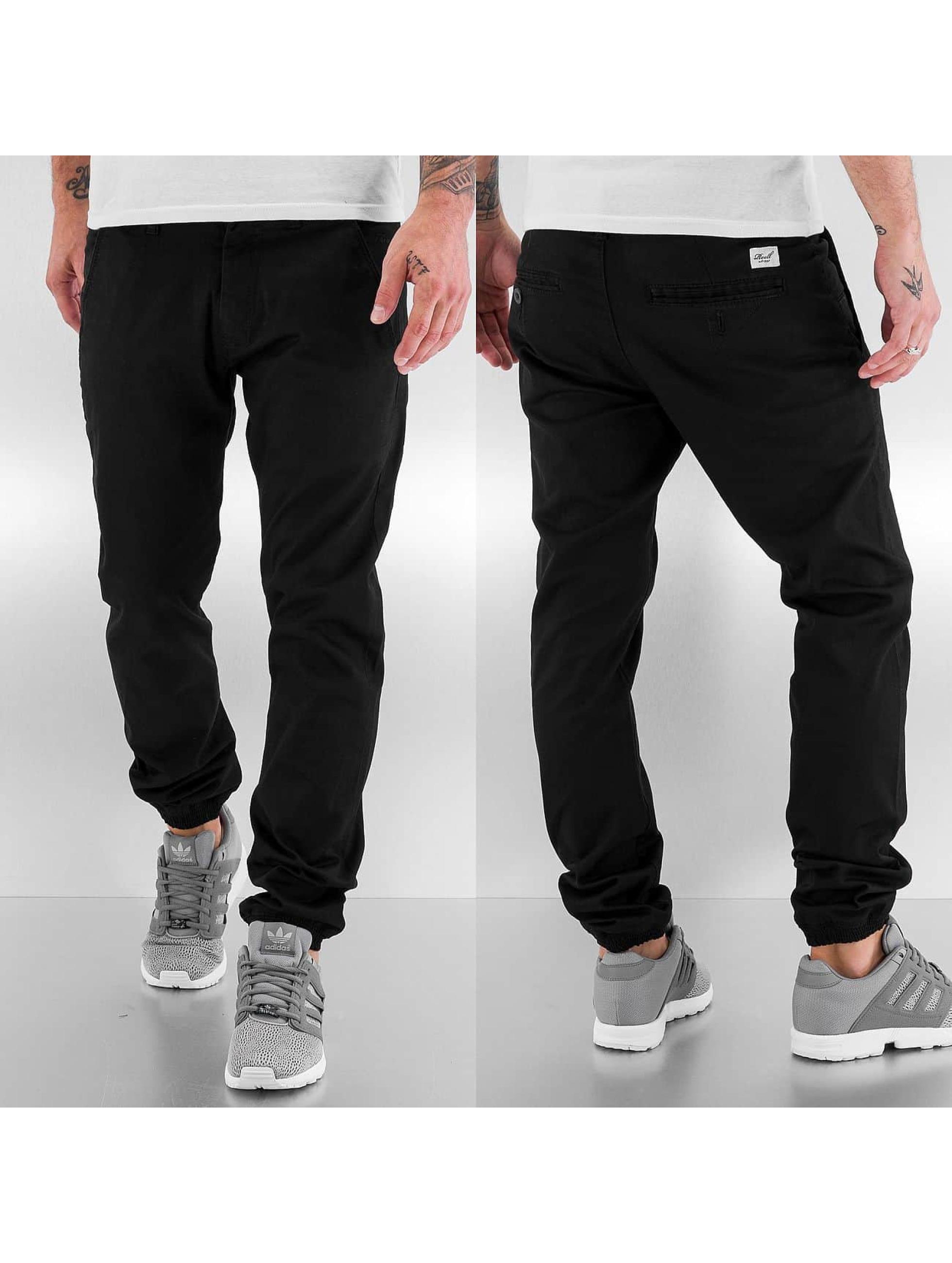 Reell Jeans Чинос Jogger черный