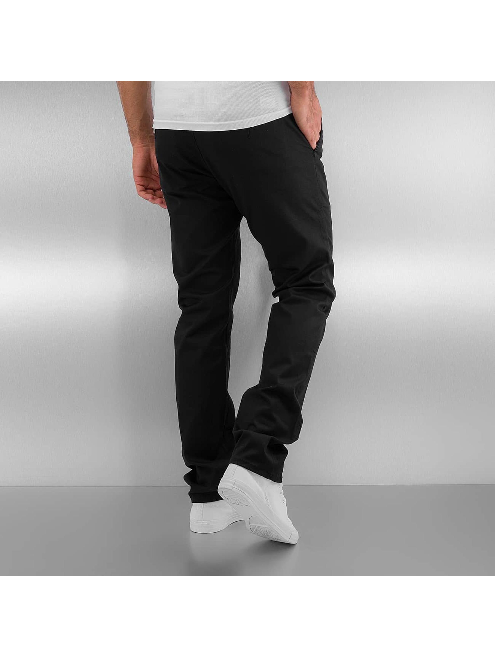 Reell Jeans Чинос Straight Flex черный