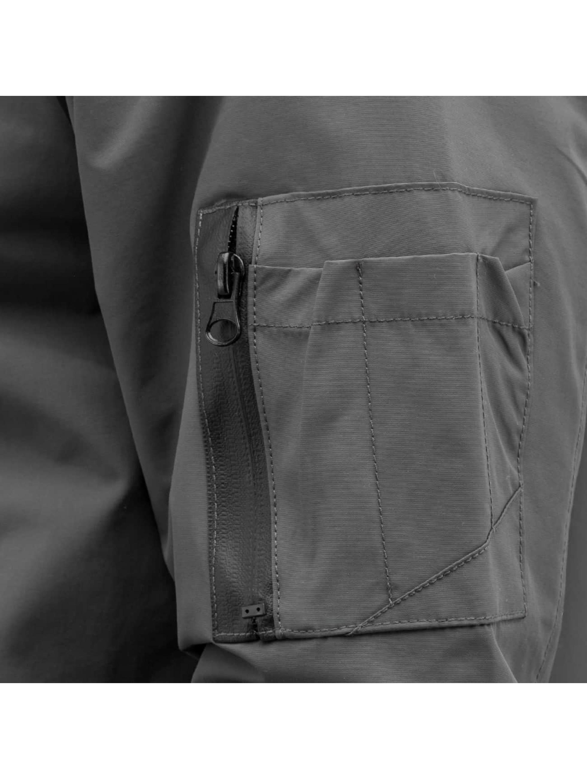 Reell Jeans Bomberjacke Technical grau