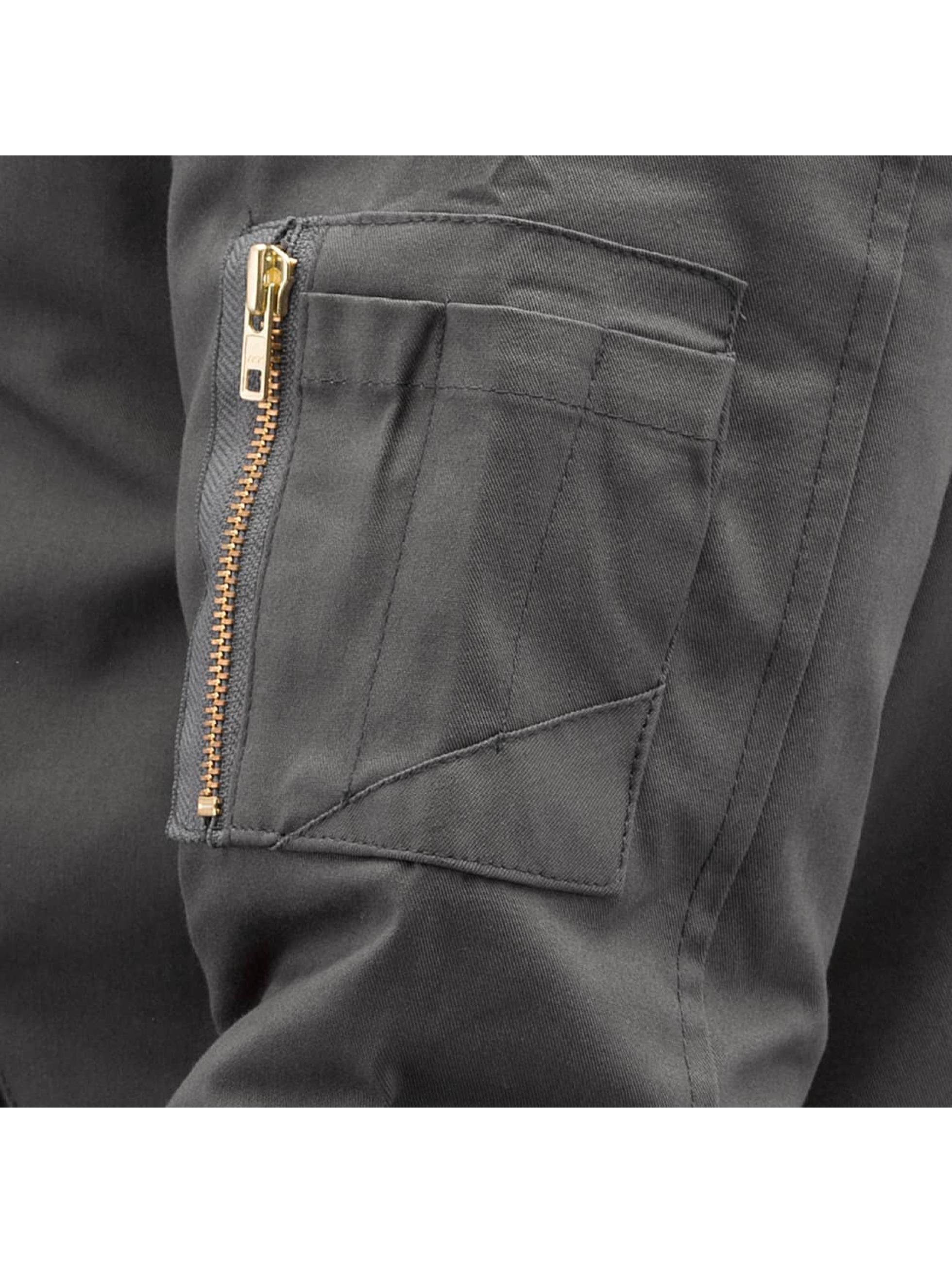 Reell Jeans Bomberjacke Padded Flight grau