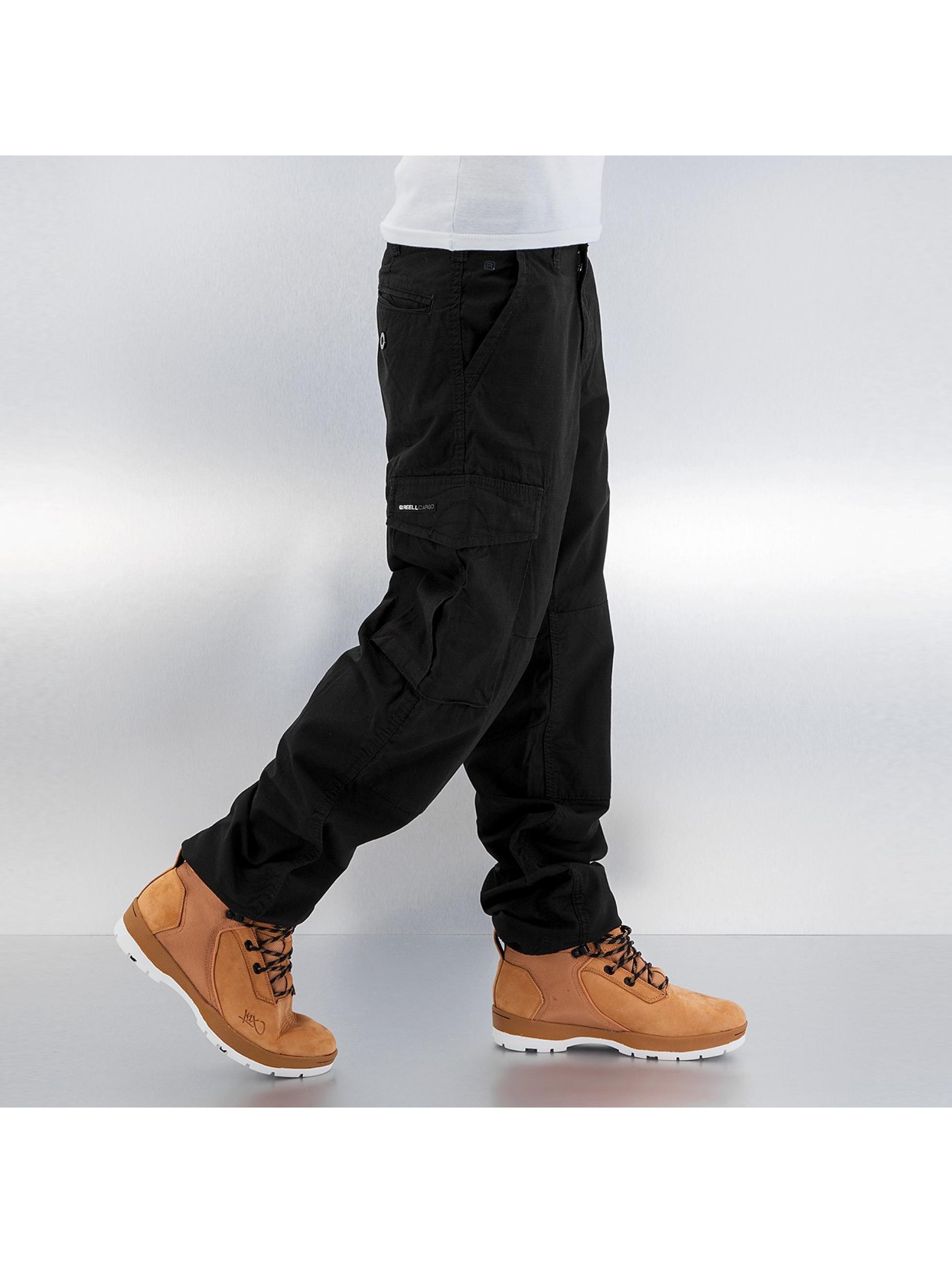 Reell Jeans Cargohose Ripstop schwarz