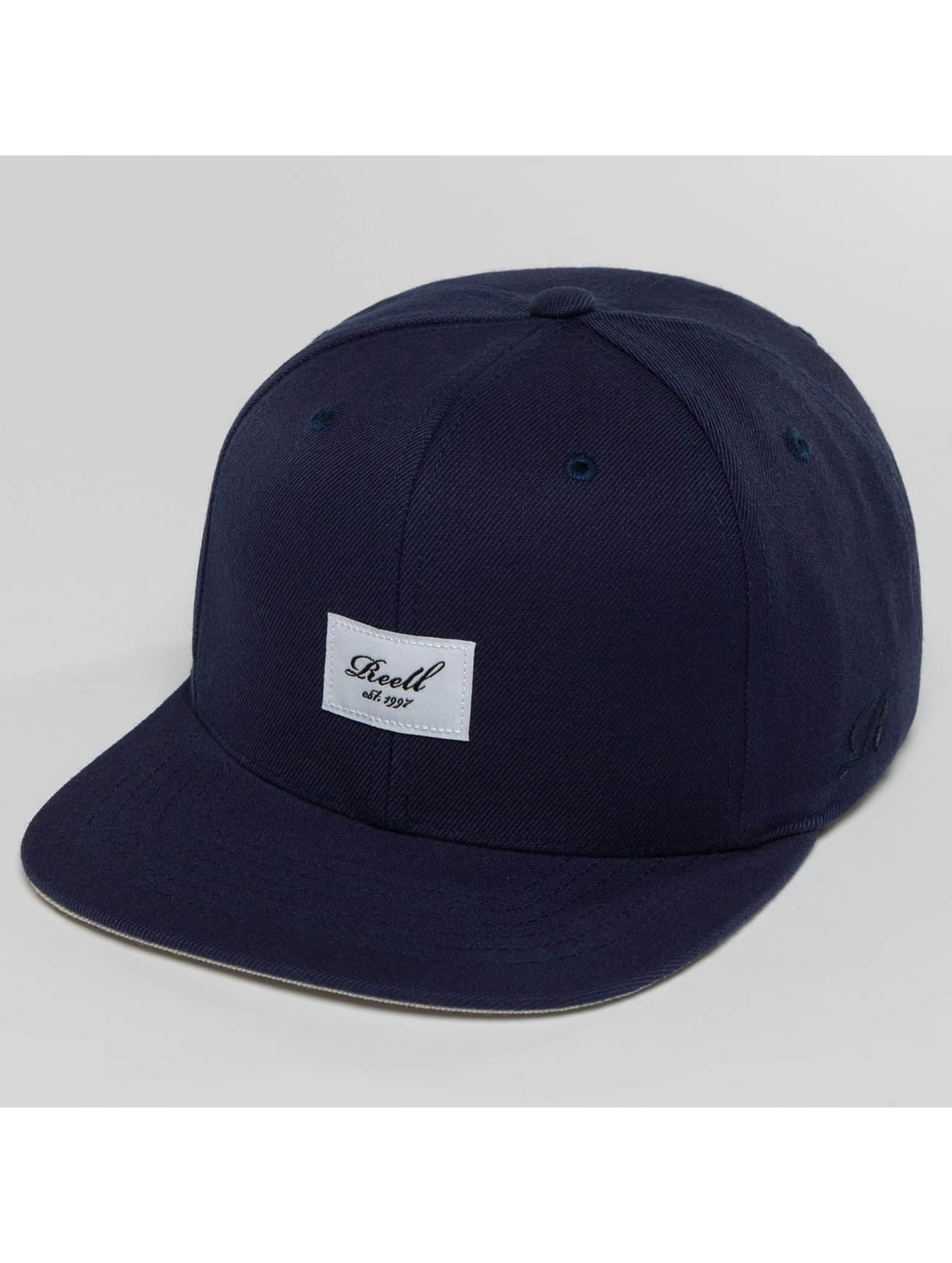 Reell Jeans Casquette Snapback & Strapback Base bleu