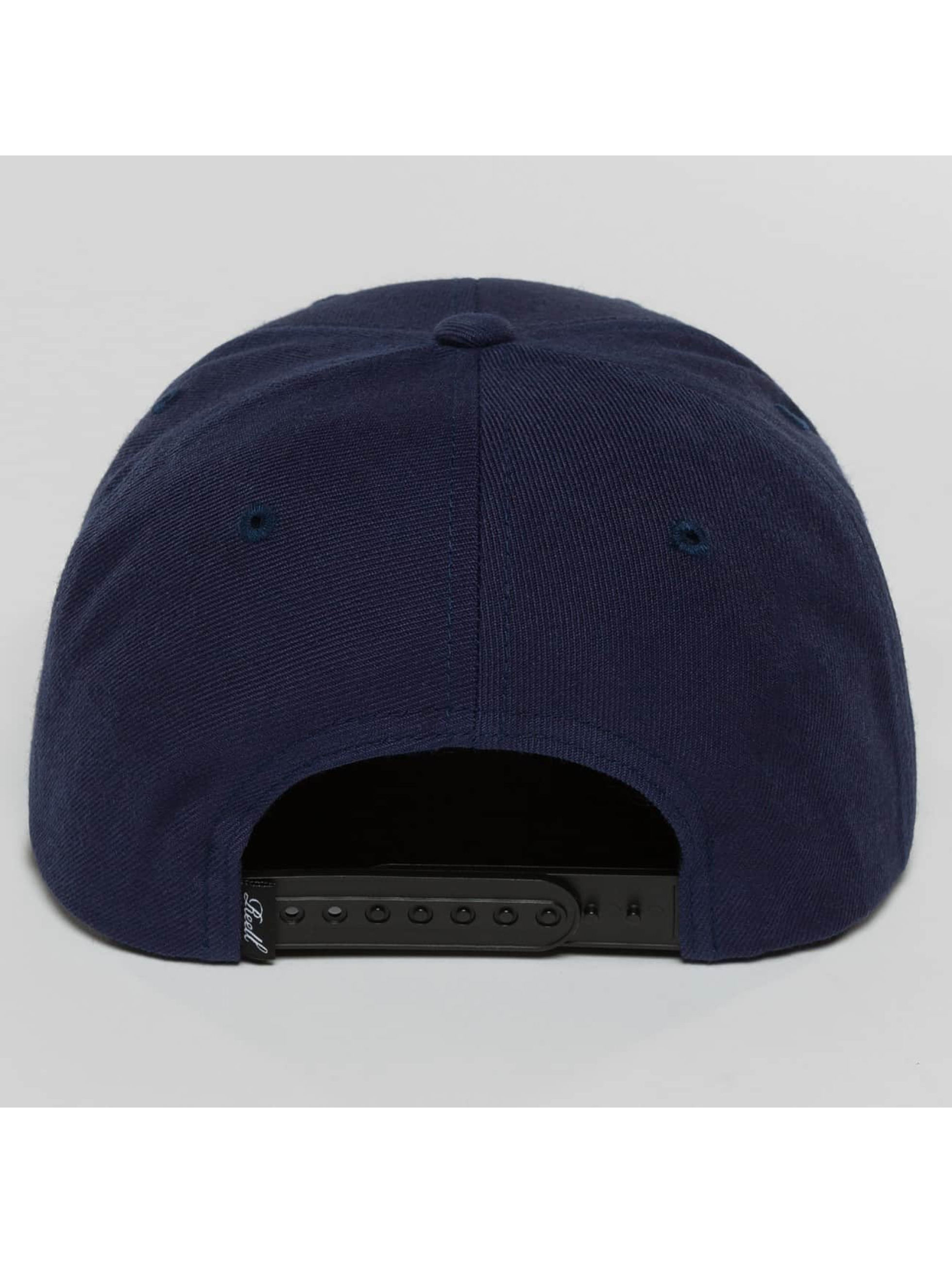 Reell Jeans Casquette Snapback & Strapback 1402004050431 bleu