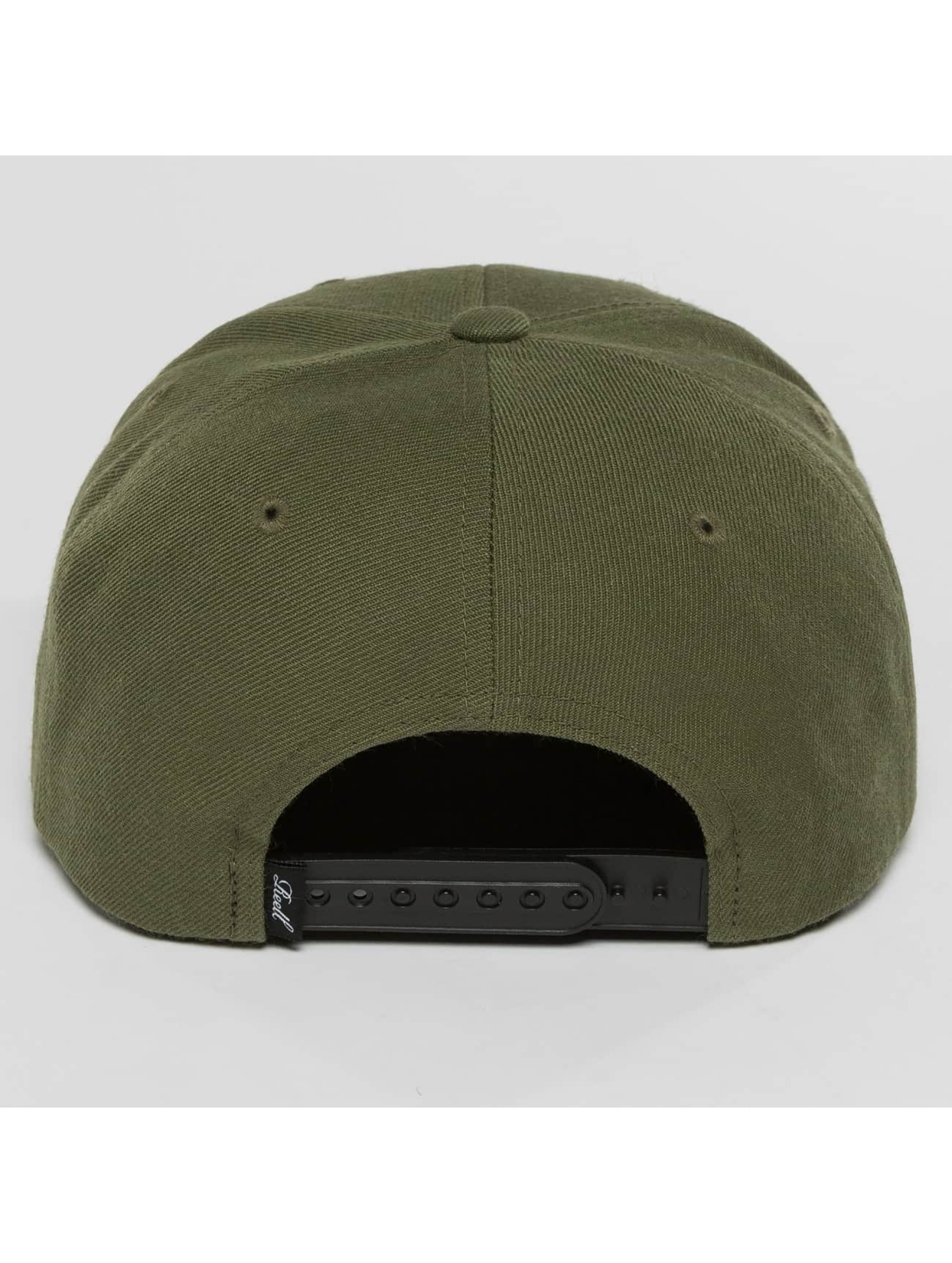 Reell Jeans Casquette Snapback & Strapback Pitchout olive