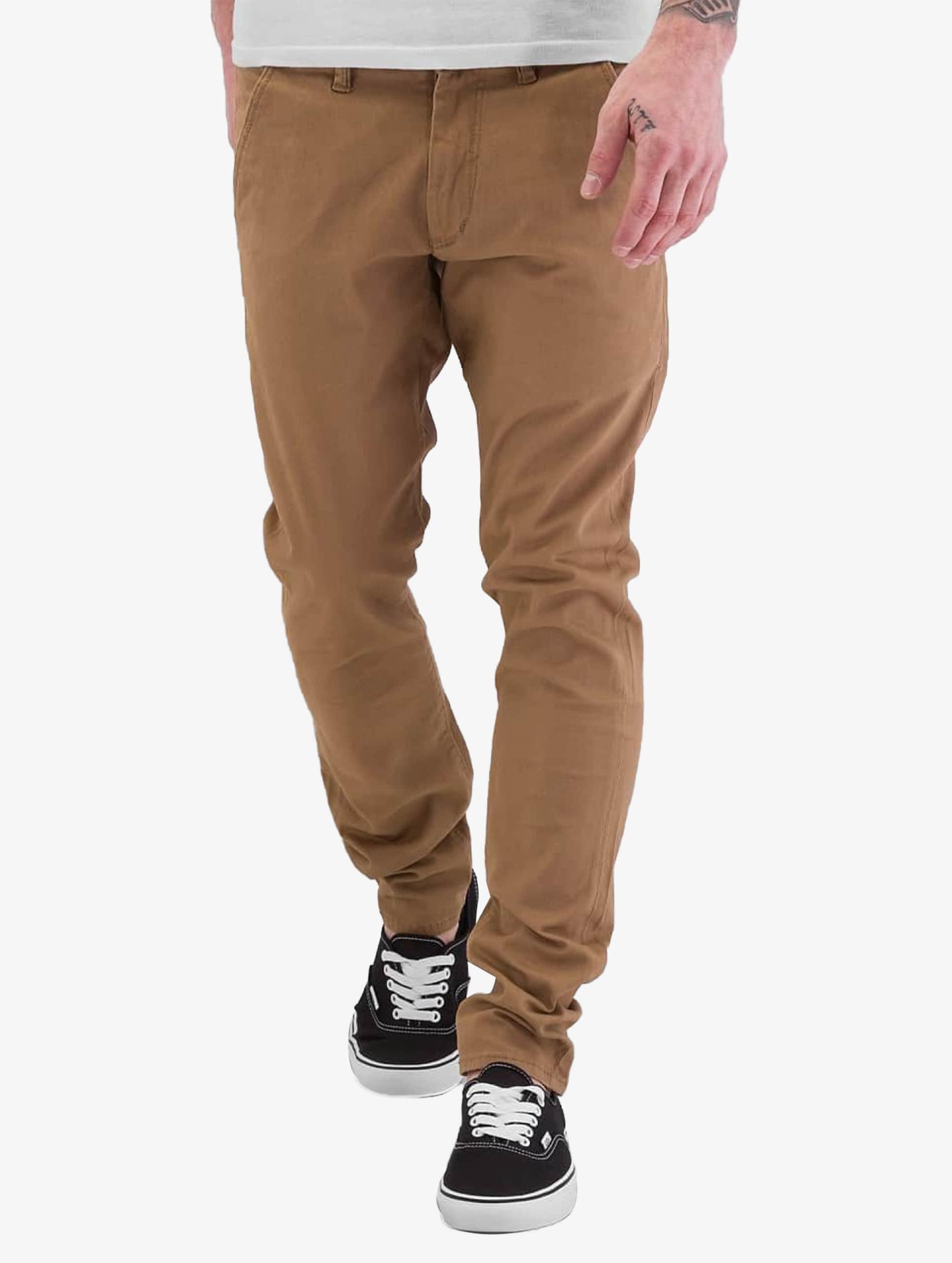 reell jeans herren chino flex tapered in beige 179955. Black Bedroom Furniture Sets. Home Design Ideas