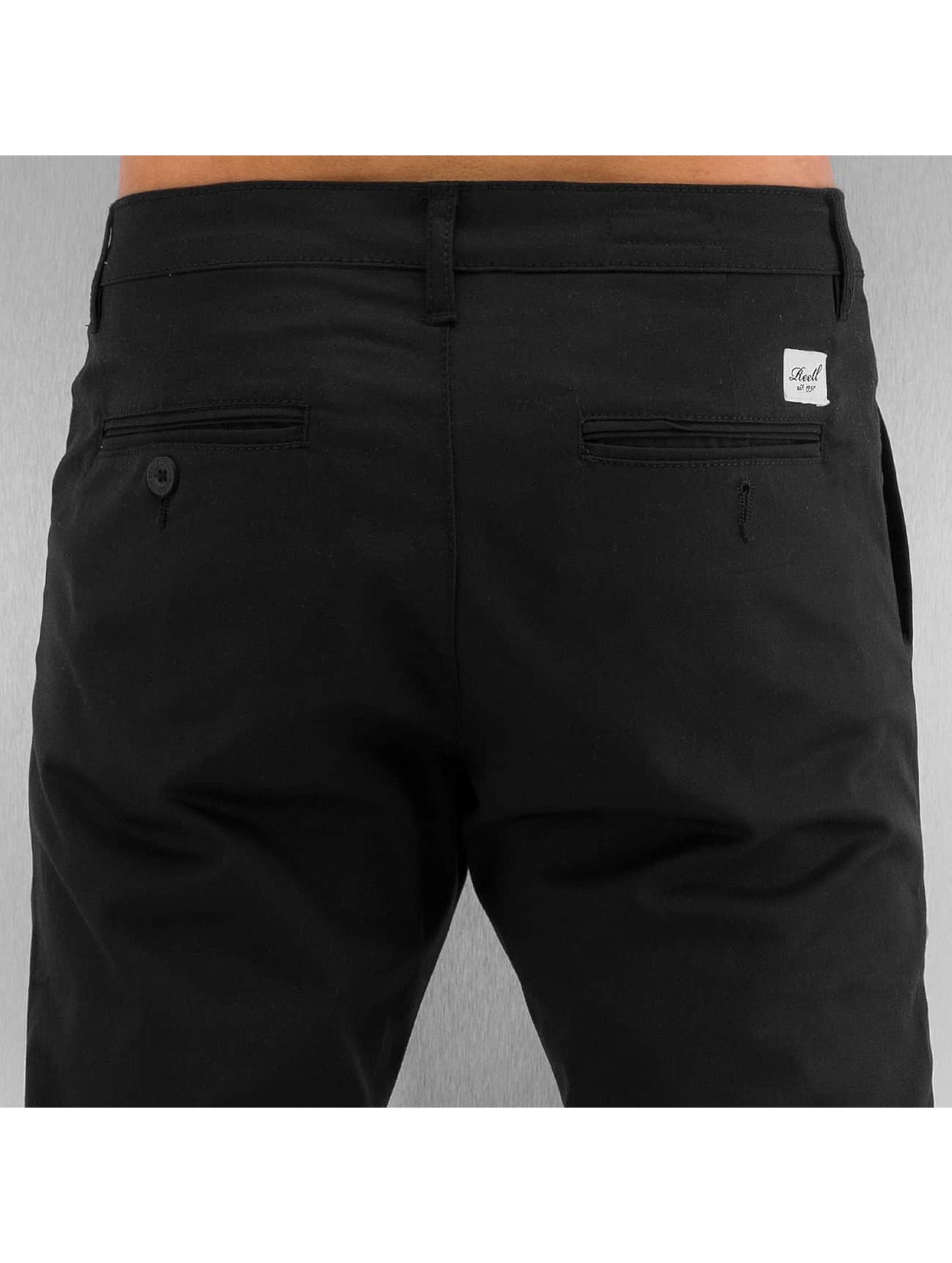 Reell Jeans Chino Straight Flex schwarz