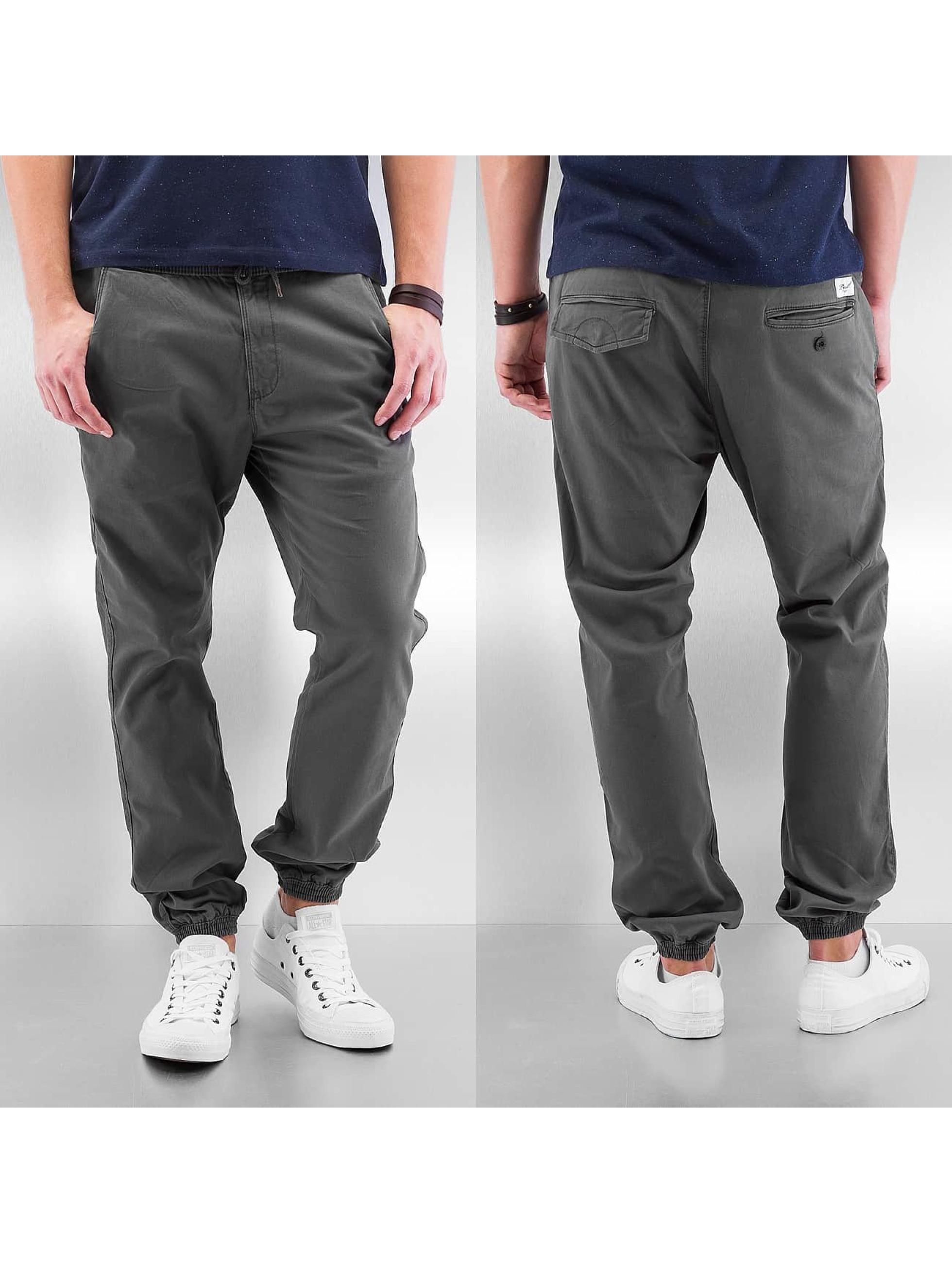Reell Jeans Chinot/Kangashousut Reflex Twill harmaa
