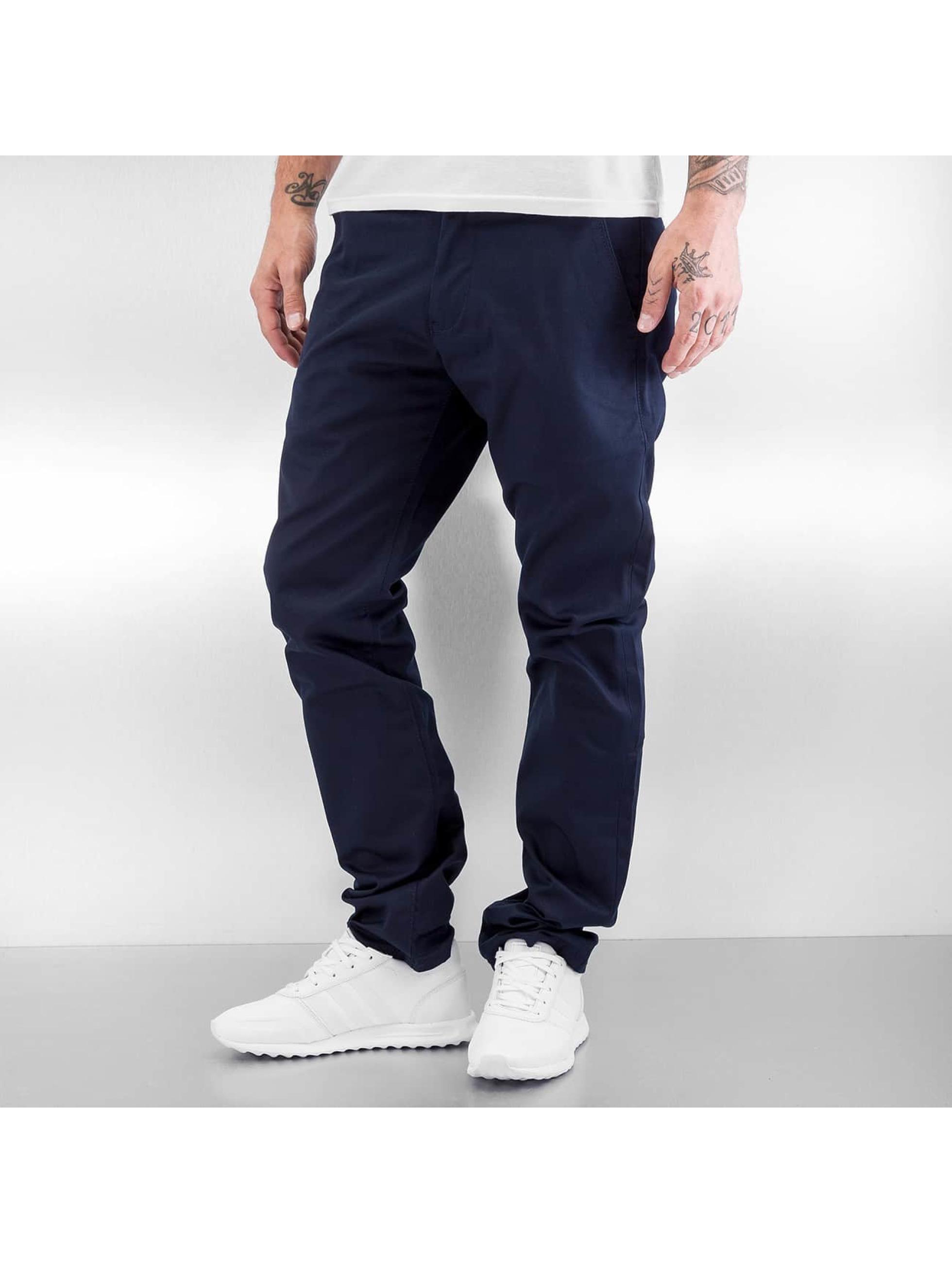 Reell Jeans Chinot/Kangashousut Straight Flex sininen
