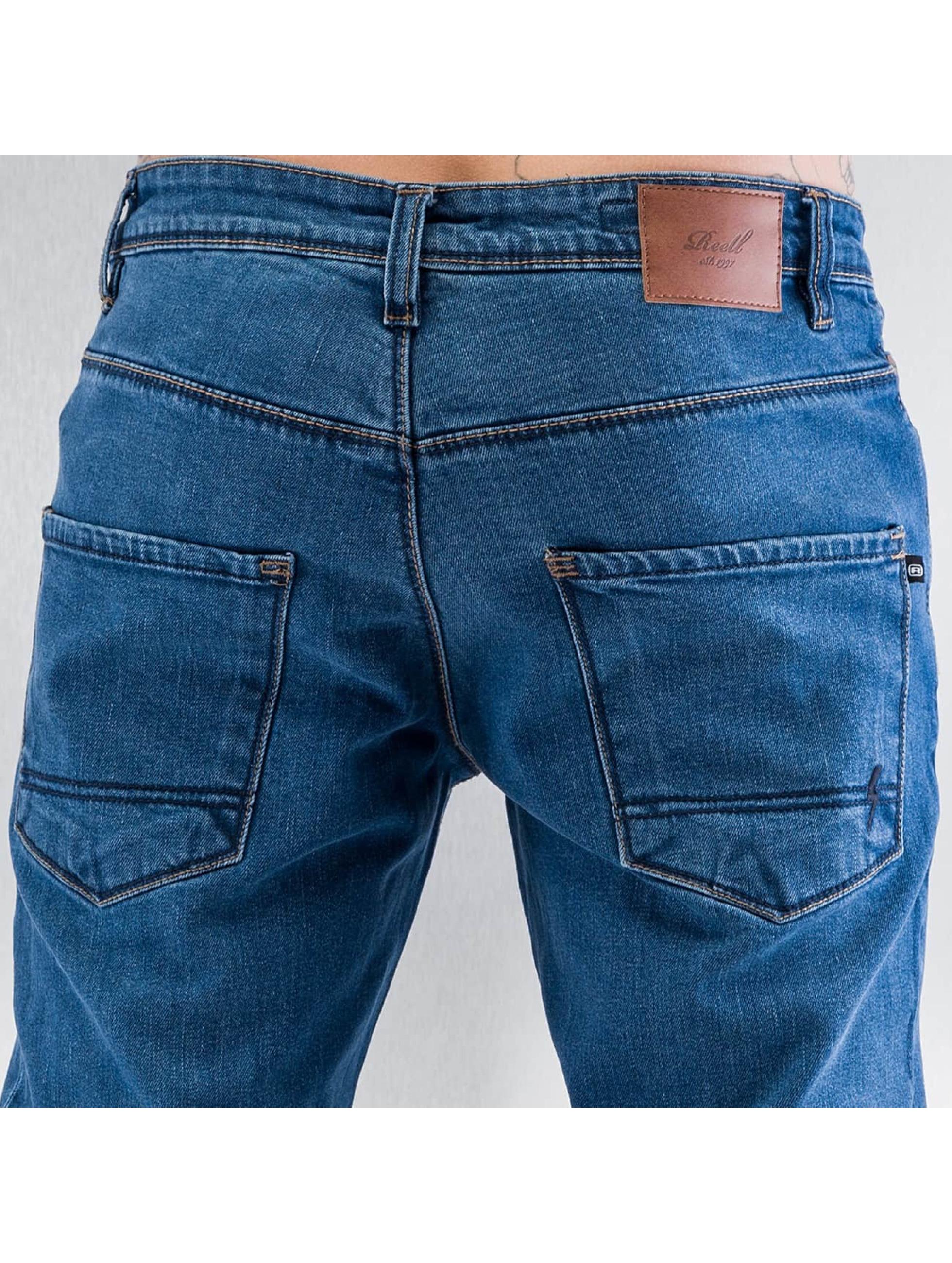 Reell Jeans Dżinsy straight fit Razor II niebieski