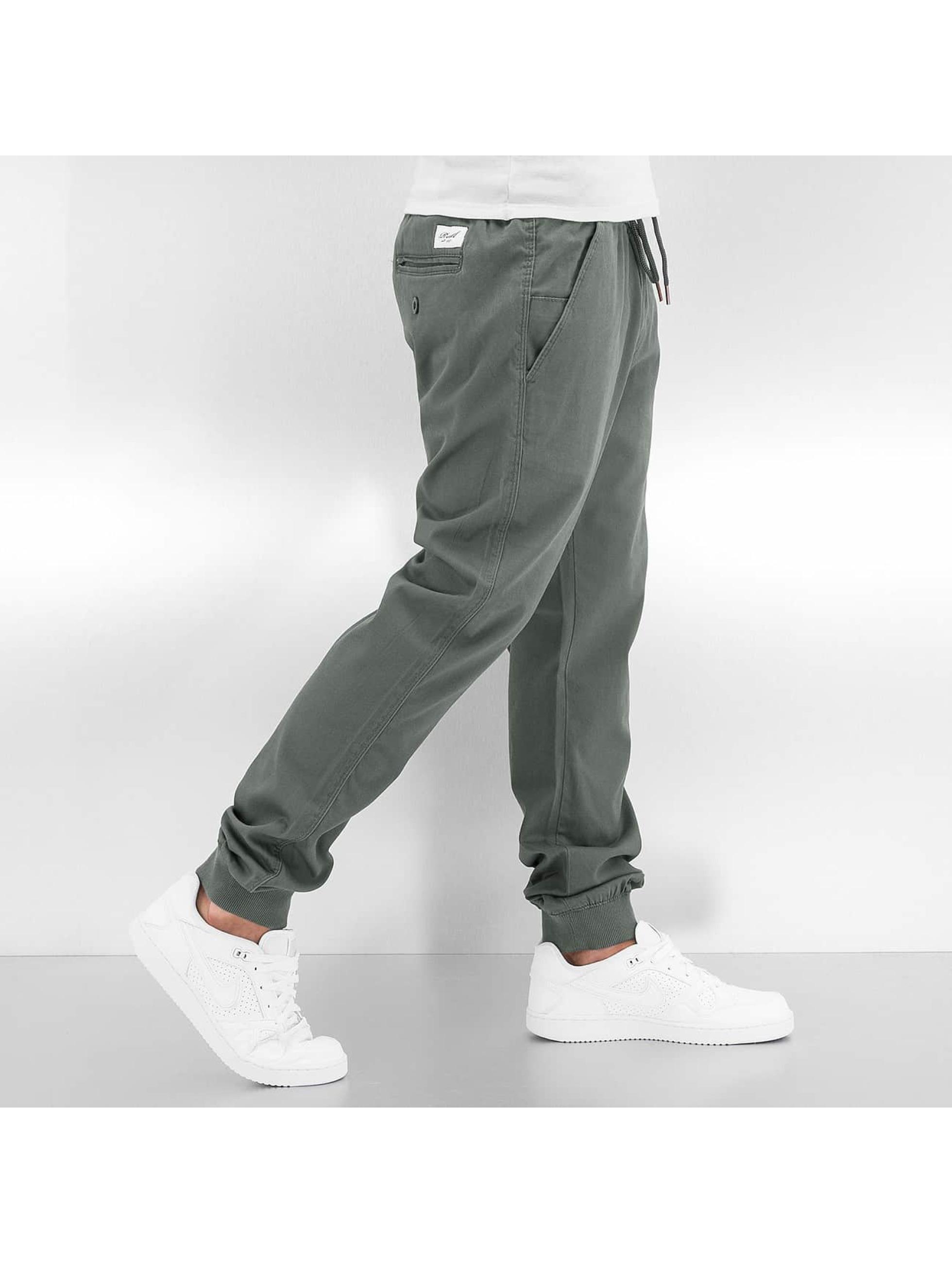 Reell Jeans joggingbroek Reflex grijs