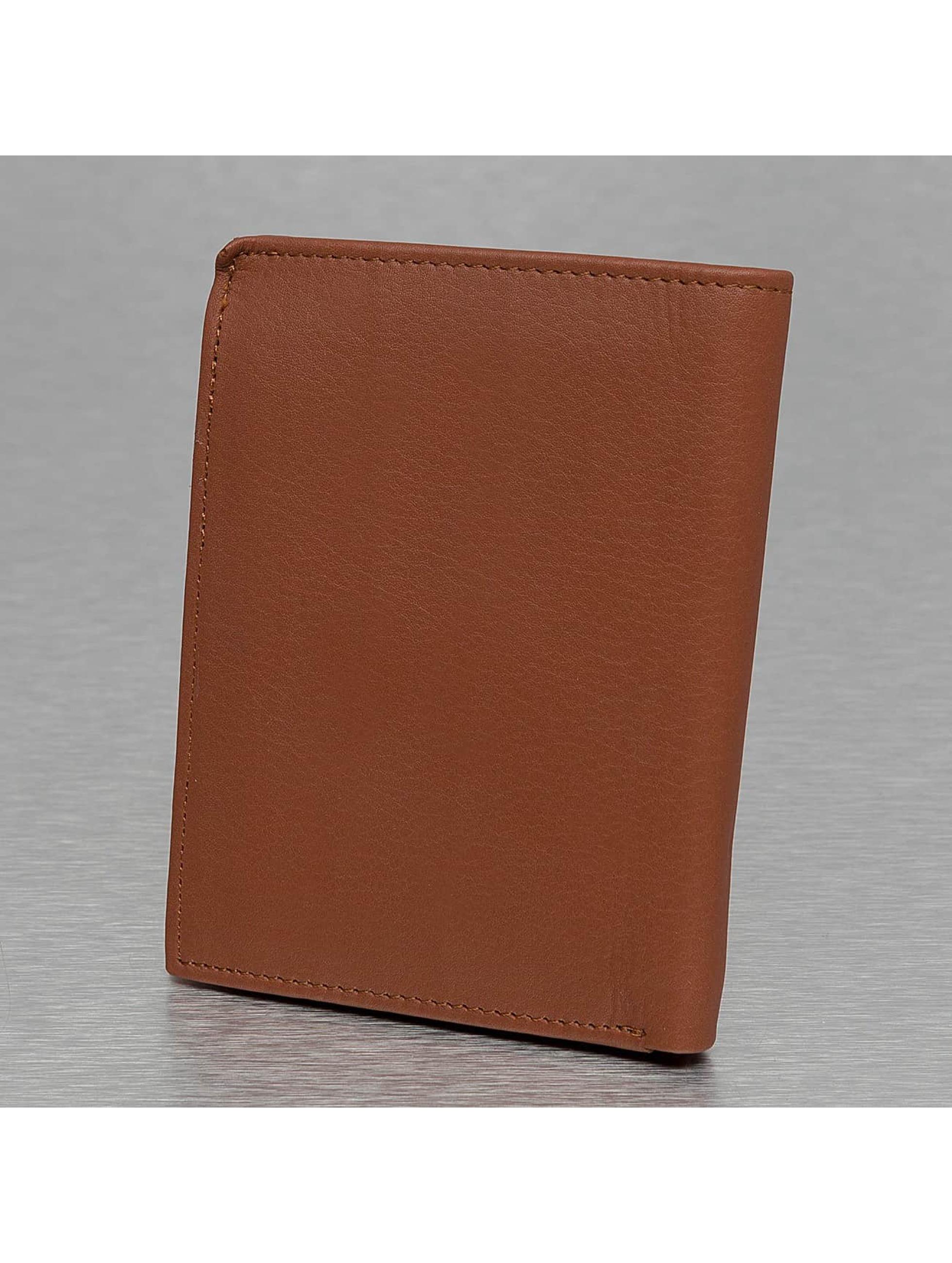 Reell Jeans Lompakot Clean Leather ruskea