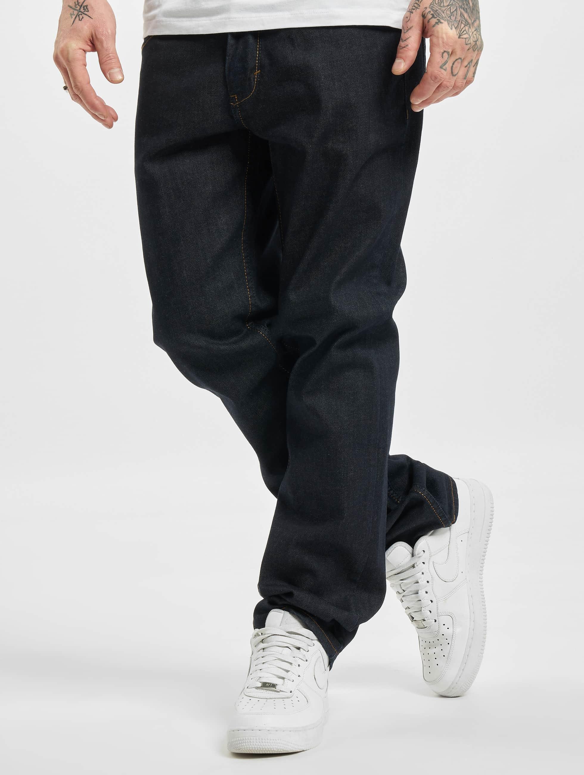 Reell Jeans Loose Fit Jeans Lowfly blau