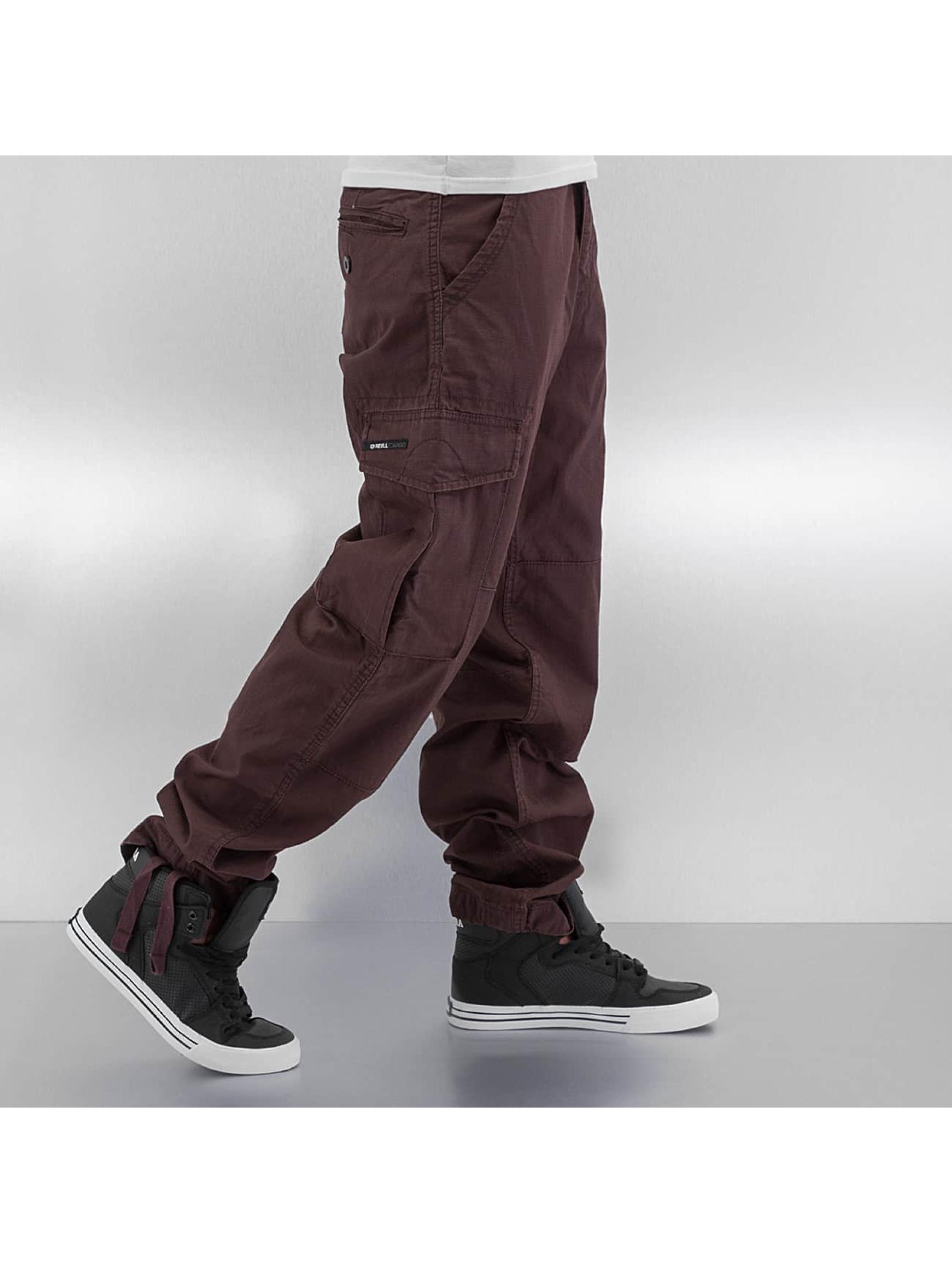 Reell Jeans Pantalon cargo Ripstop brun