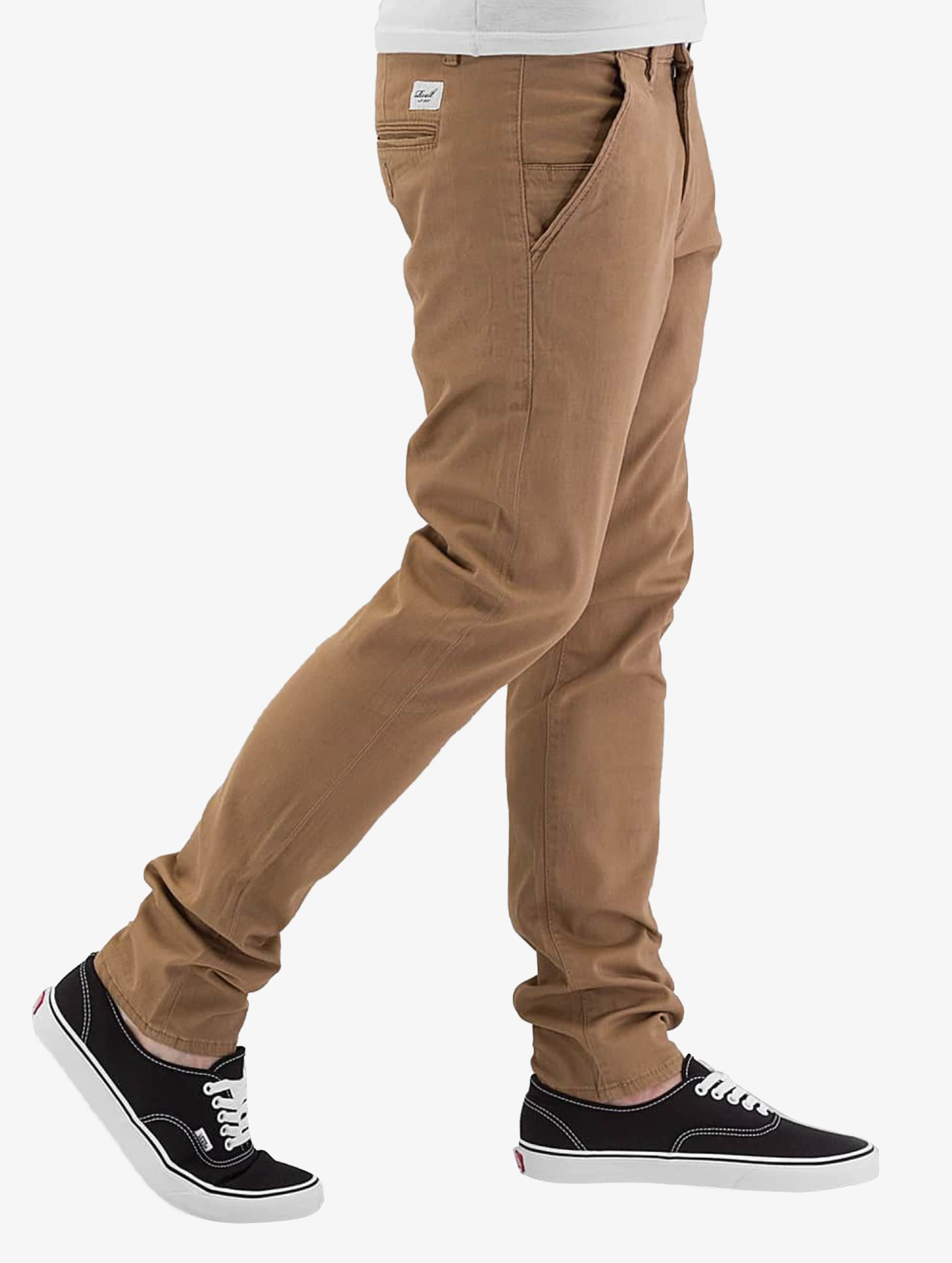 Reell Jeans Pantalon chino Flex Tapered beige