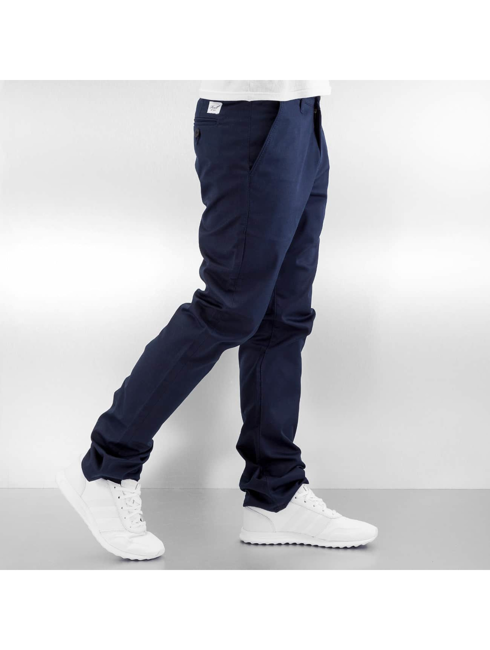 Reell Jeans Pantalon chino Straight Flex bleu