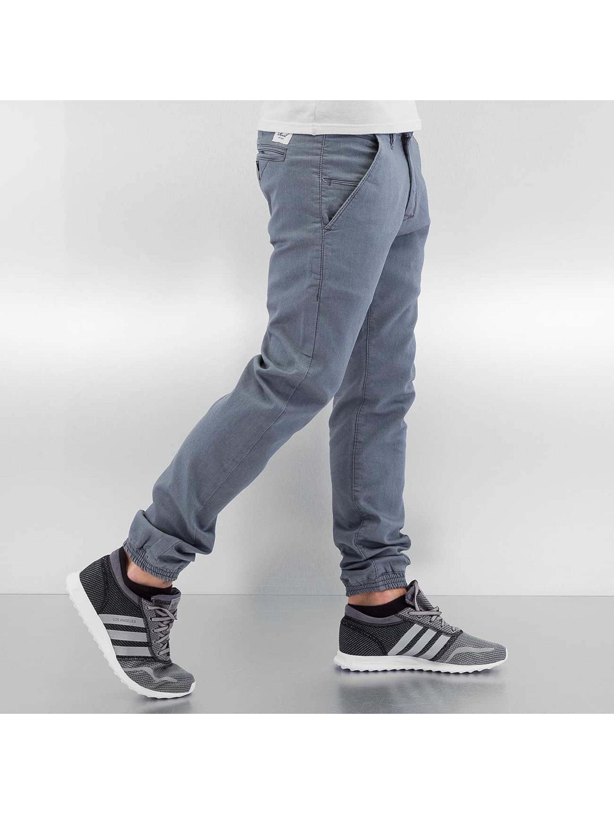Reell Jeans Pantalon chino Jogger gris
