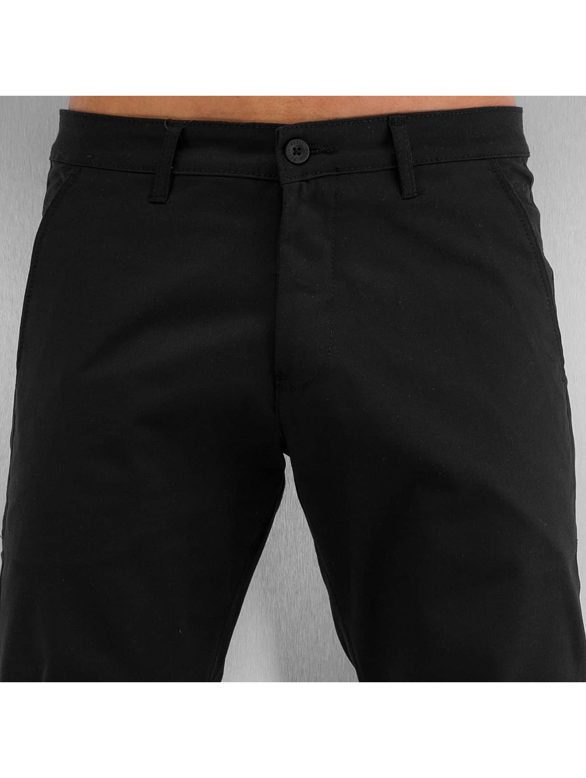 Reell Jeans Pantalon chino Straight Flex noir