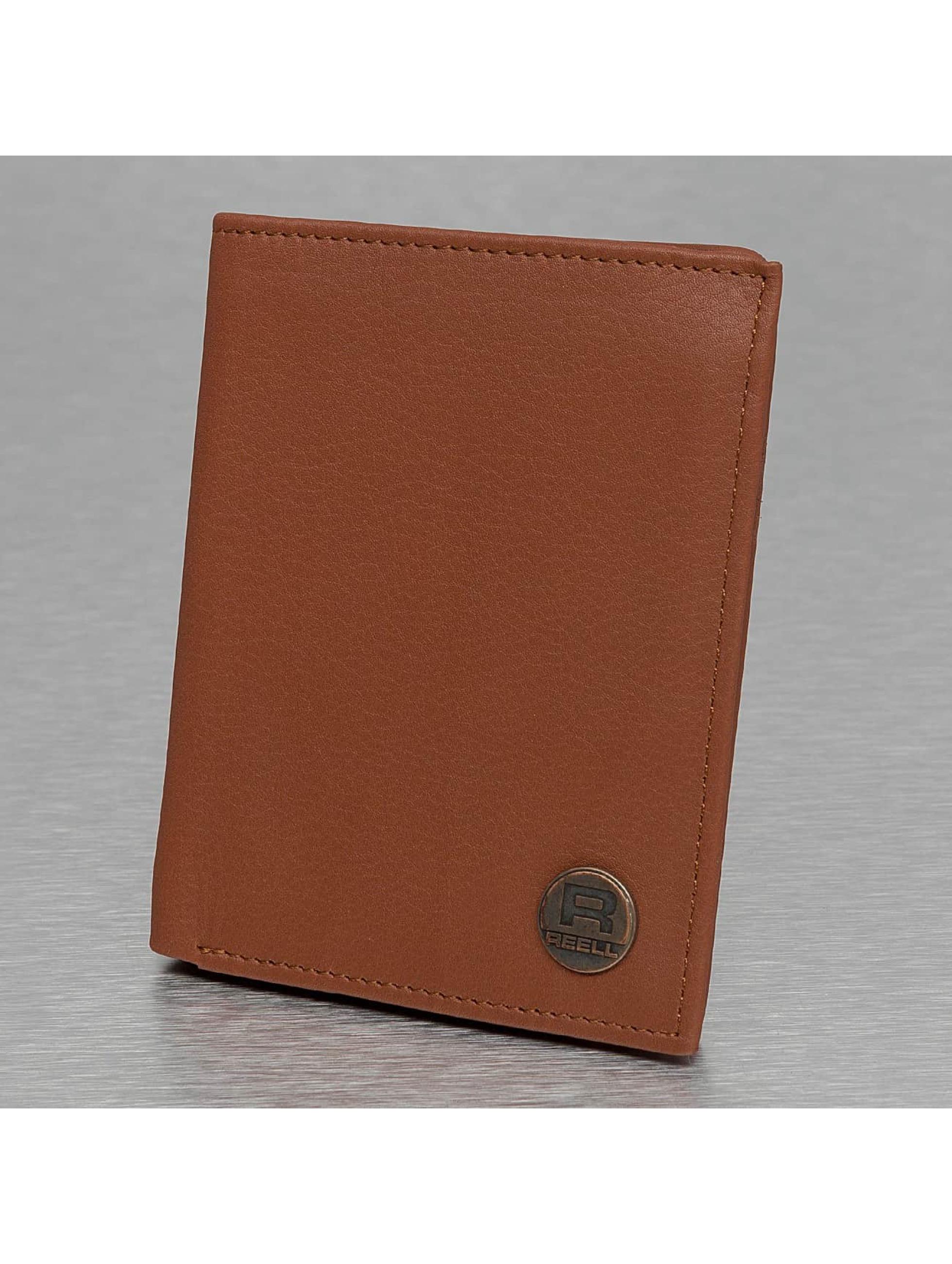 Reell Jeans Plånbok Clean Leather brun