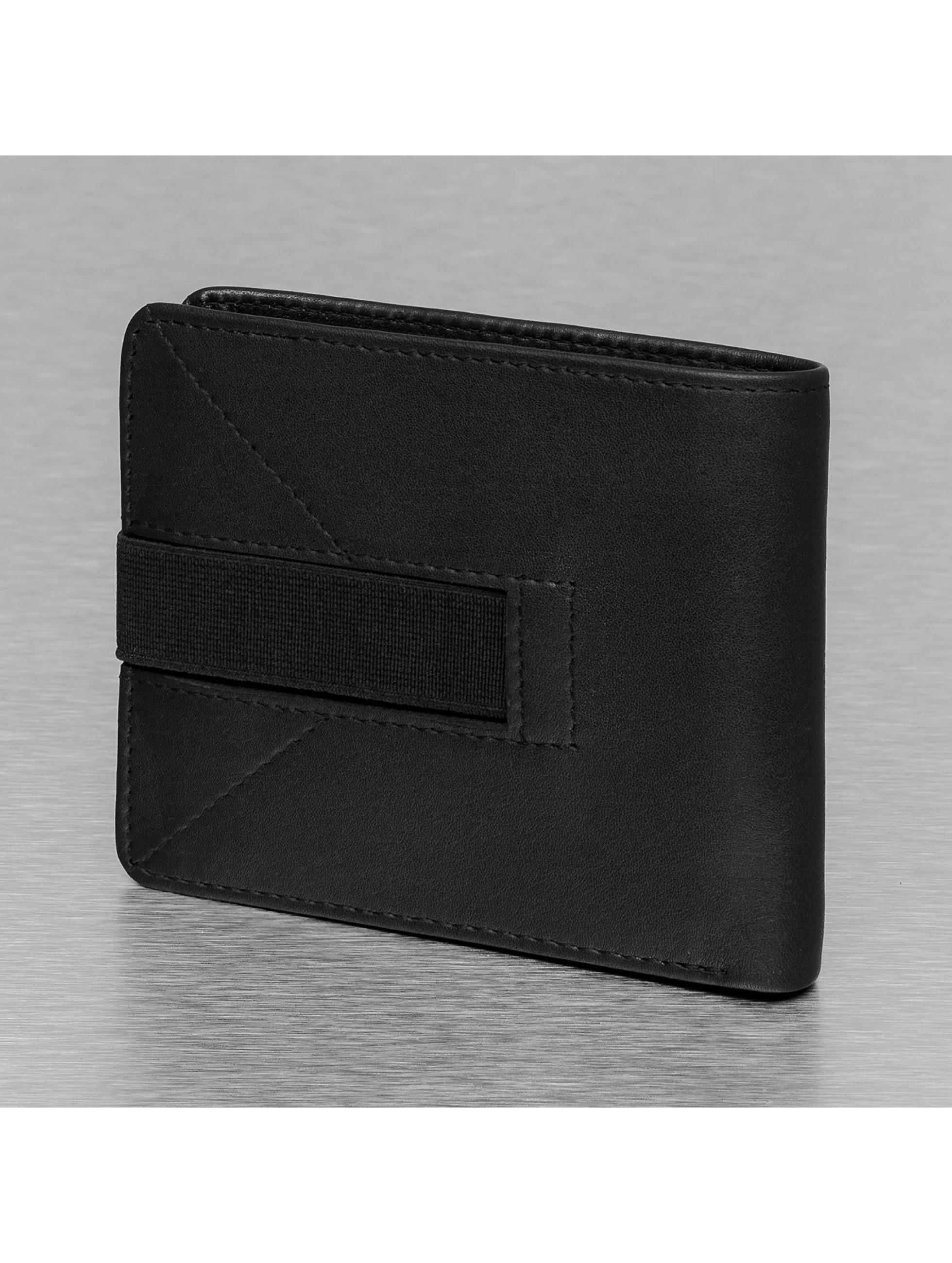 Reell Jeans portemonnee Strap Leather zwart