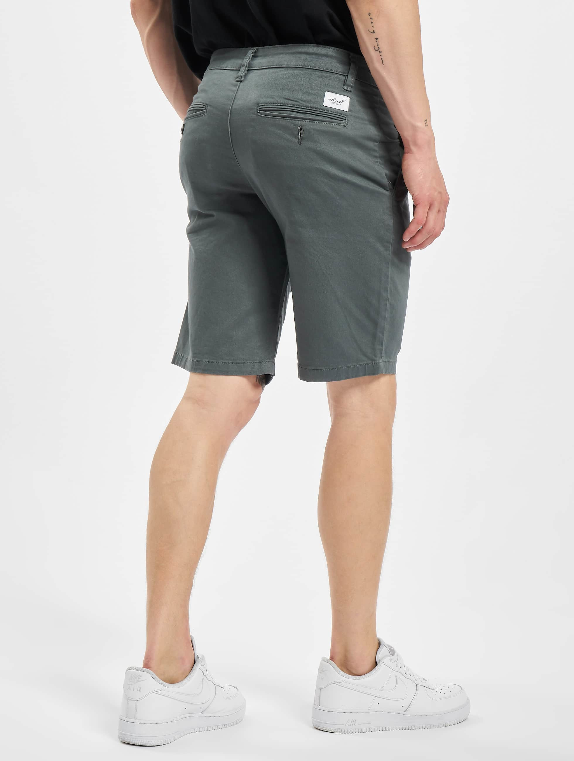 Reell Jeans Short Flex Grip Chino gris