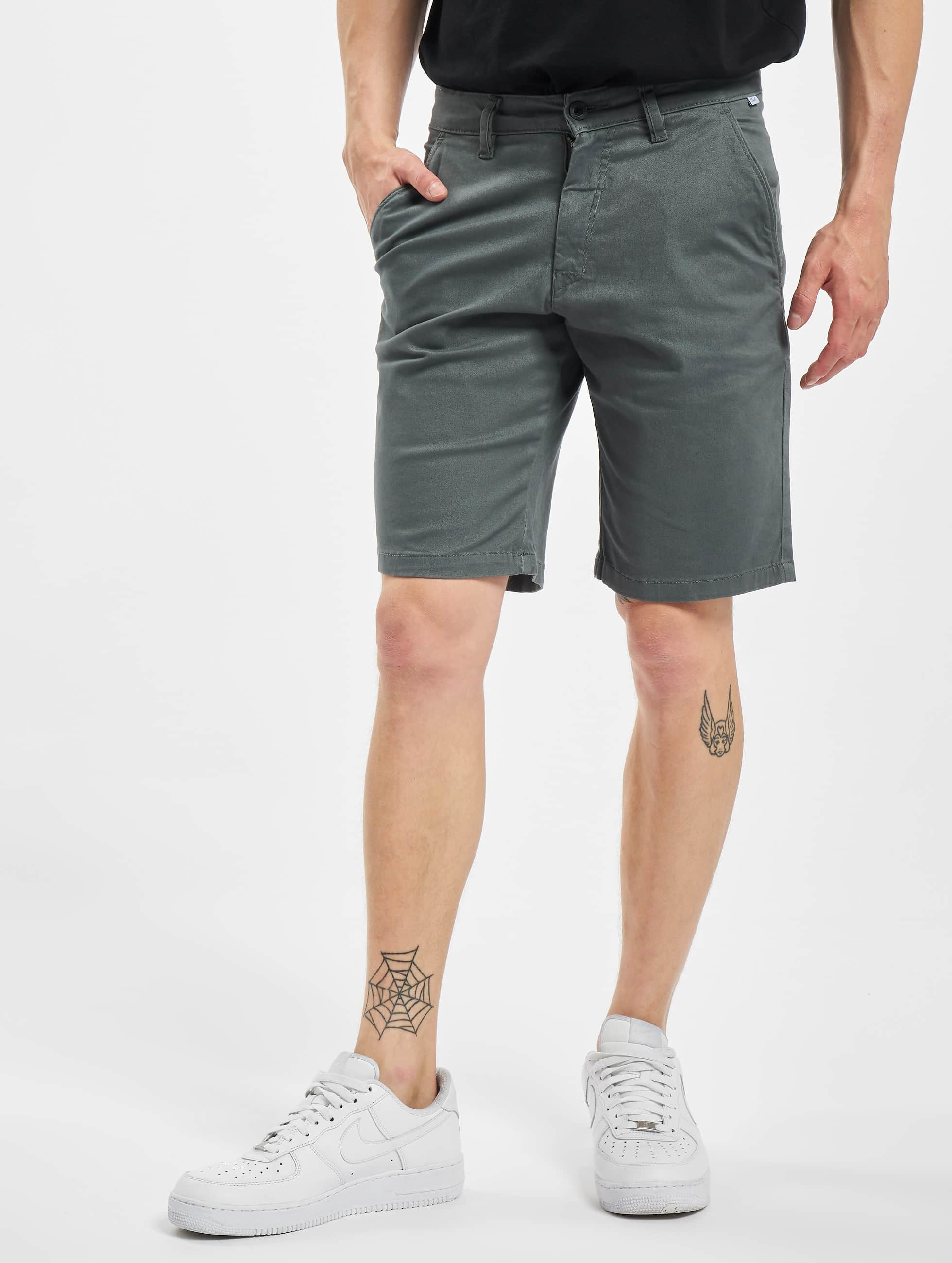 Reell Jeans Shortsit Flex Grip Chino harmaa