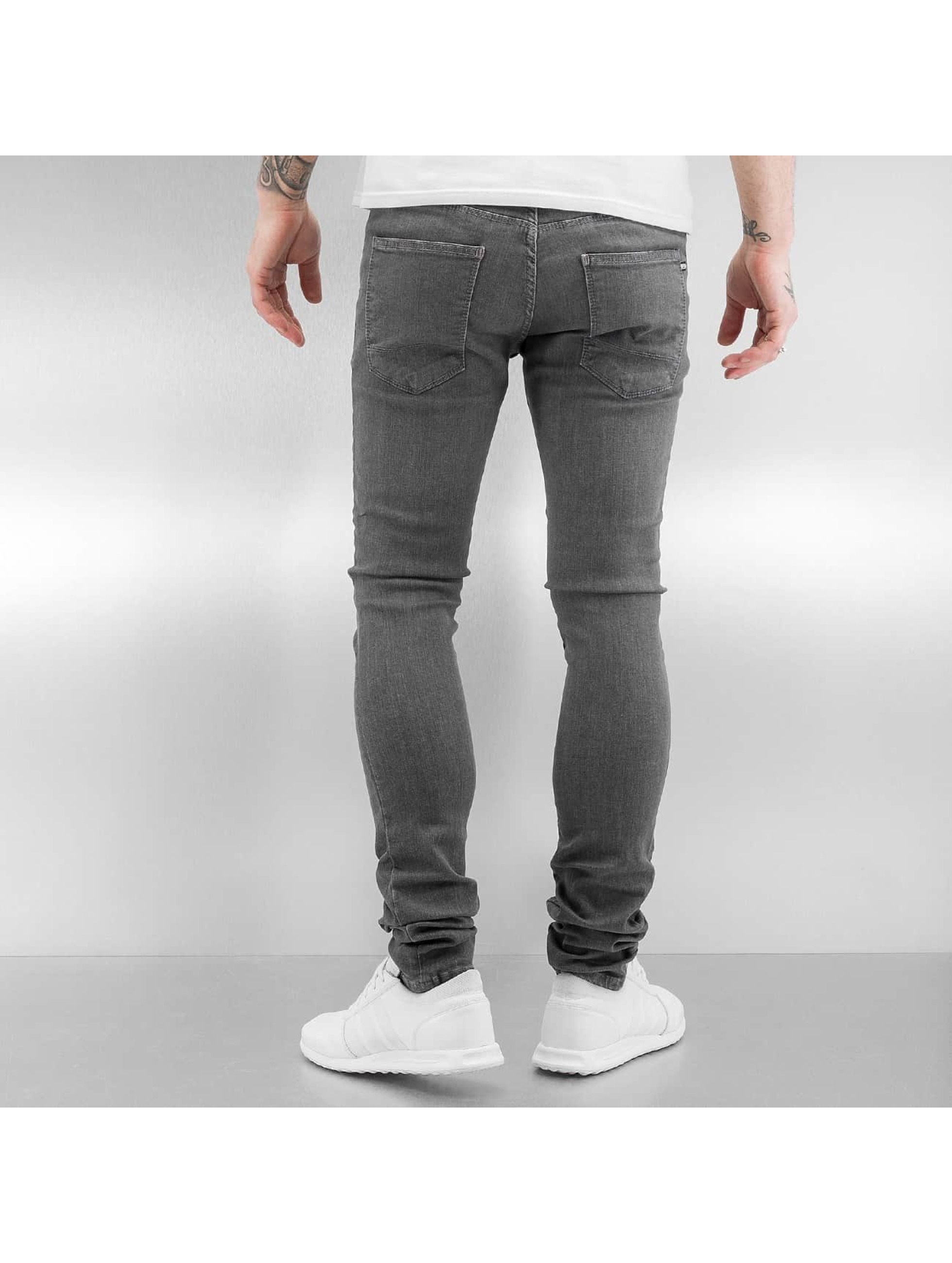 Reell Jeans Skinny Jeans Radar Stretch Super Slim Fit grau