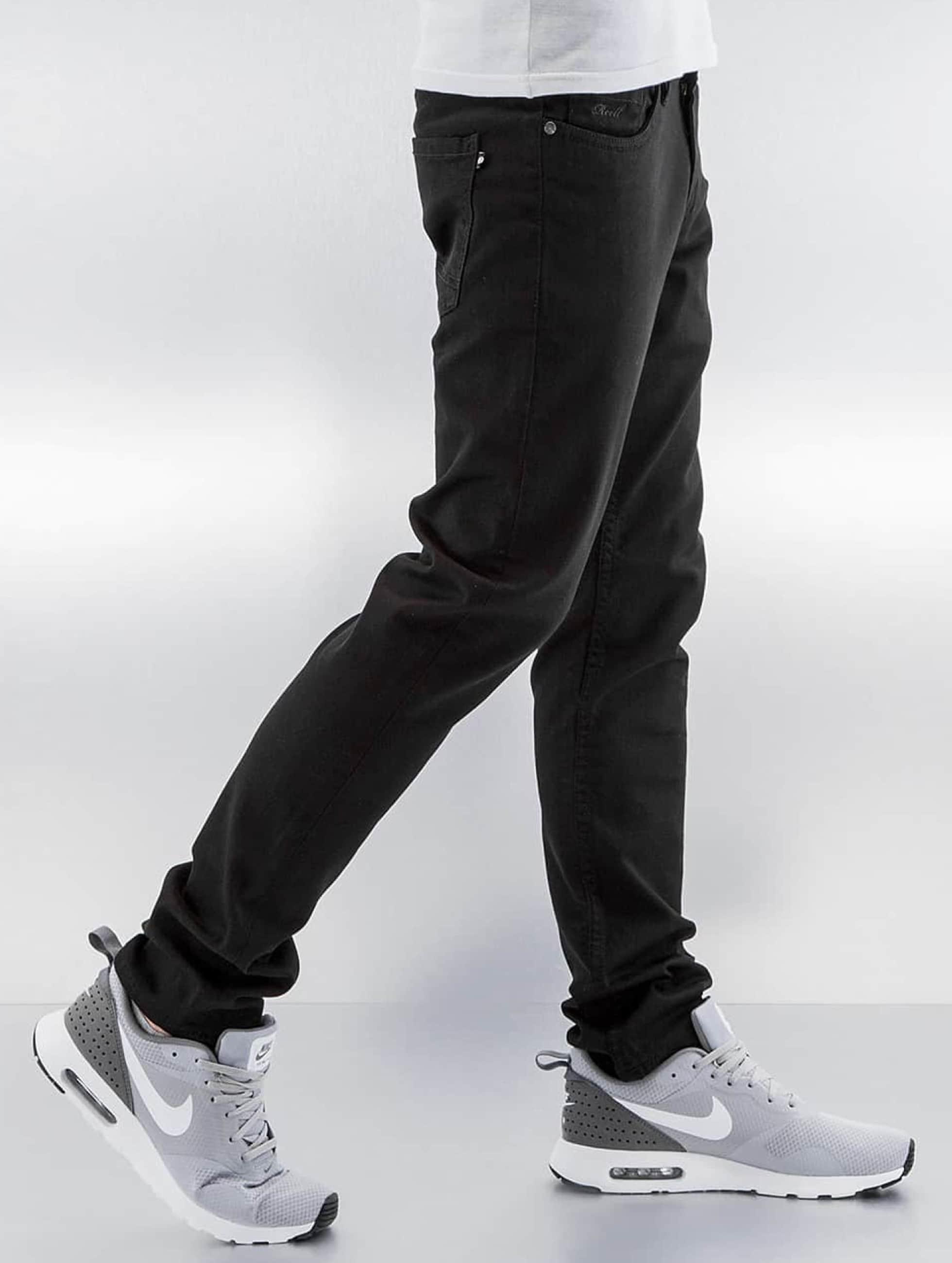 Reell Jeans Slim Fit Jeans Spider черный