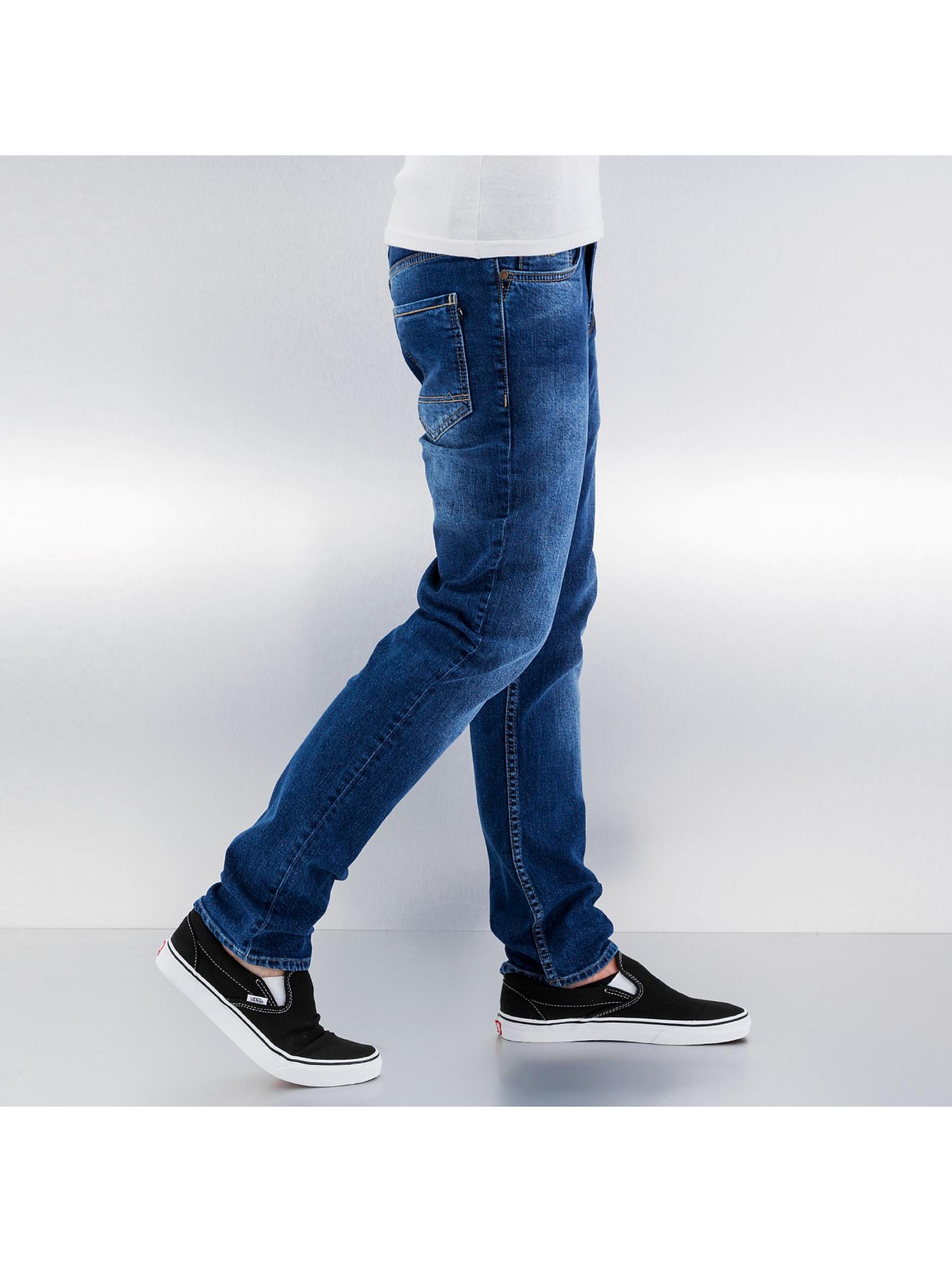 Reell Jeans Slim Fit Jeans Spider blau