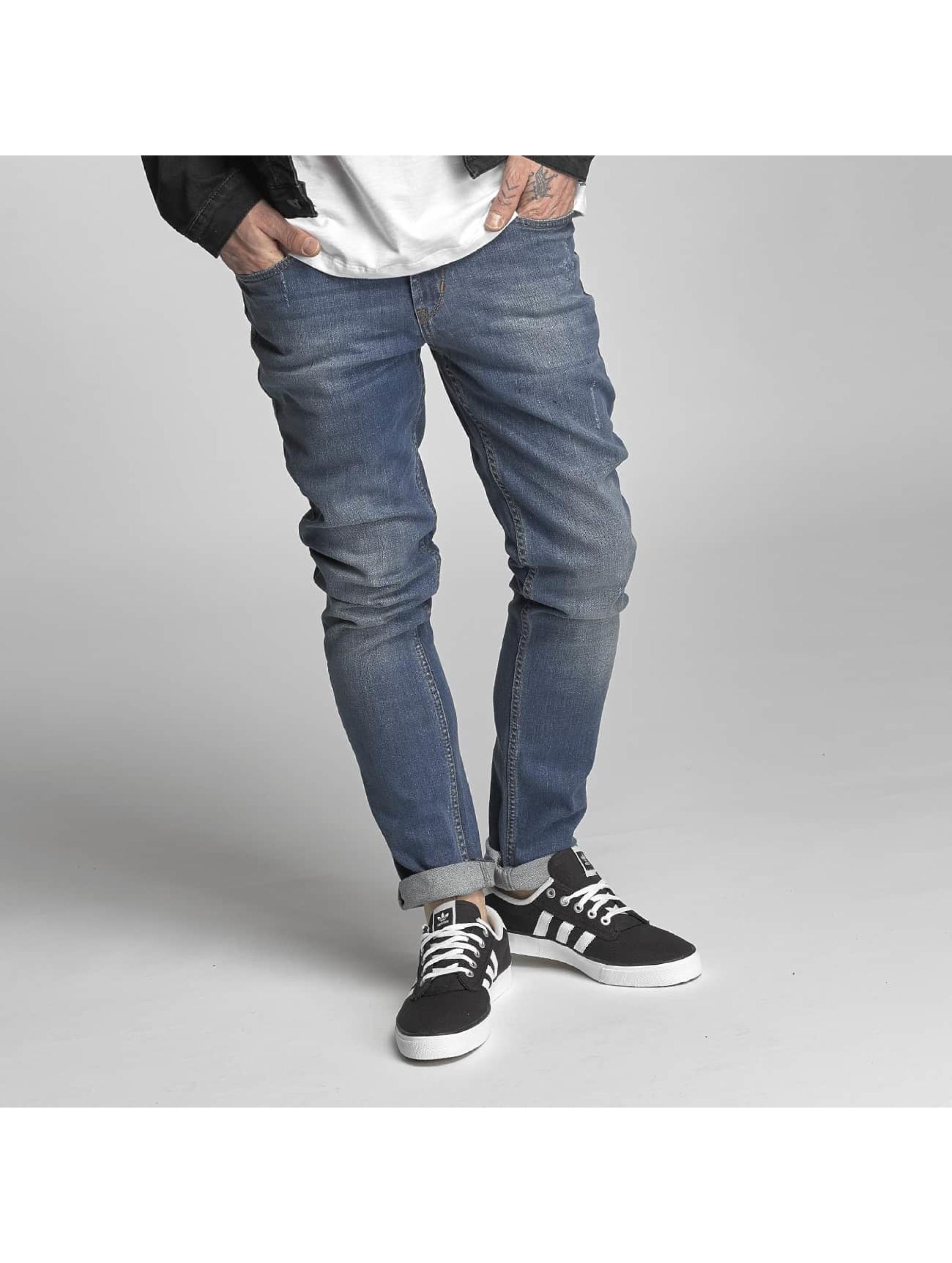 Slim Fit Jeans Spider in blau