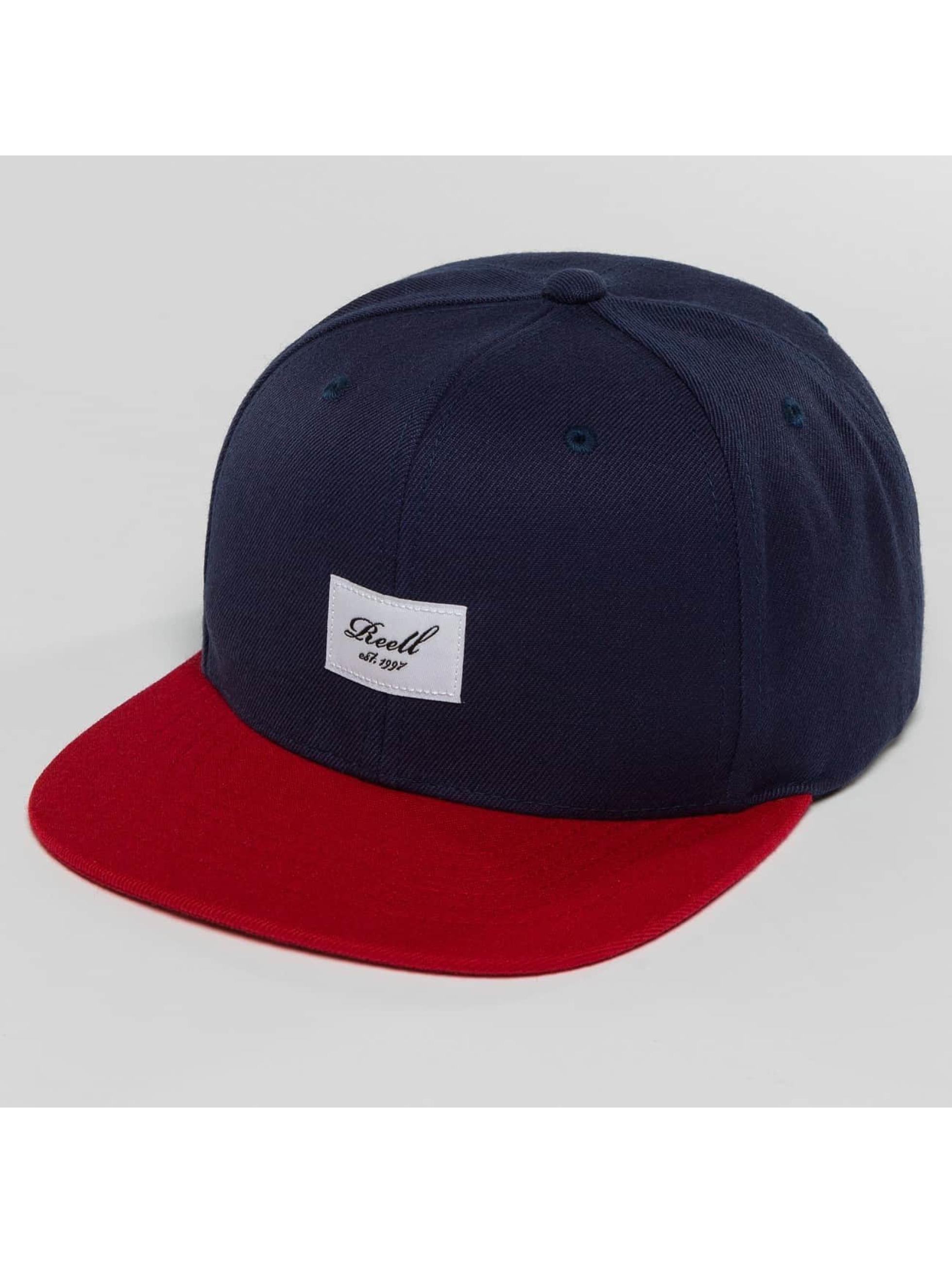 Reell Jeans snapback cap 1402004050431 blauw