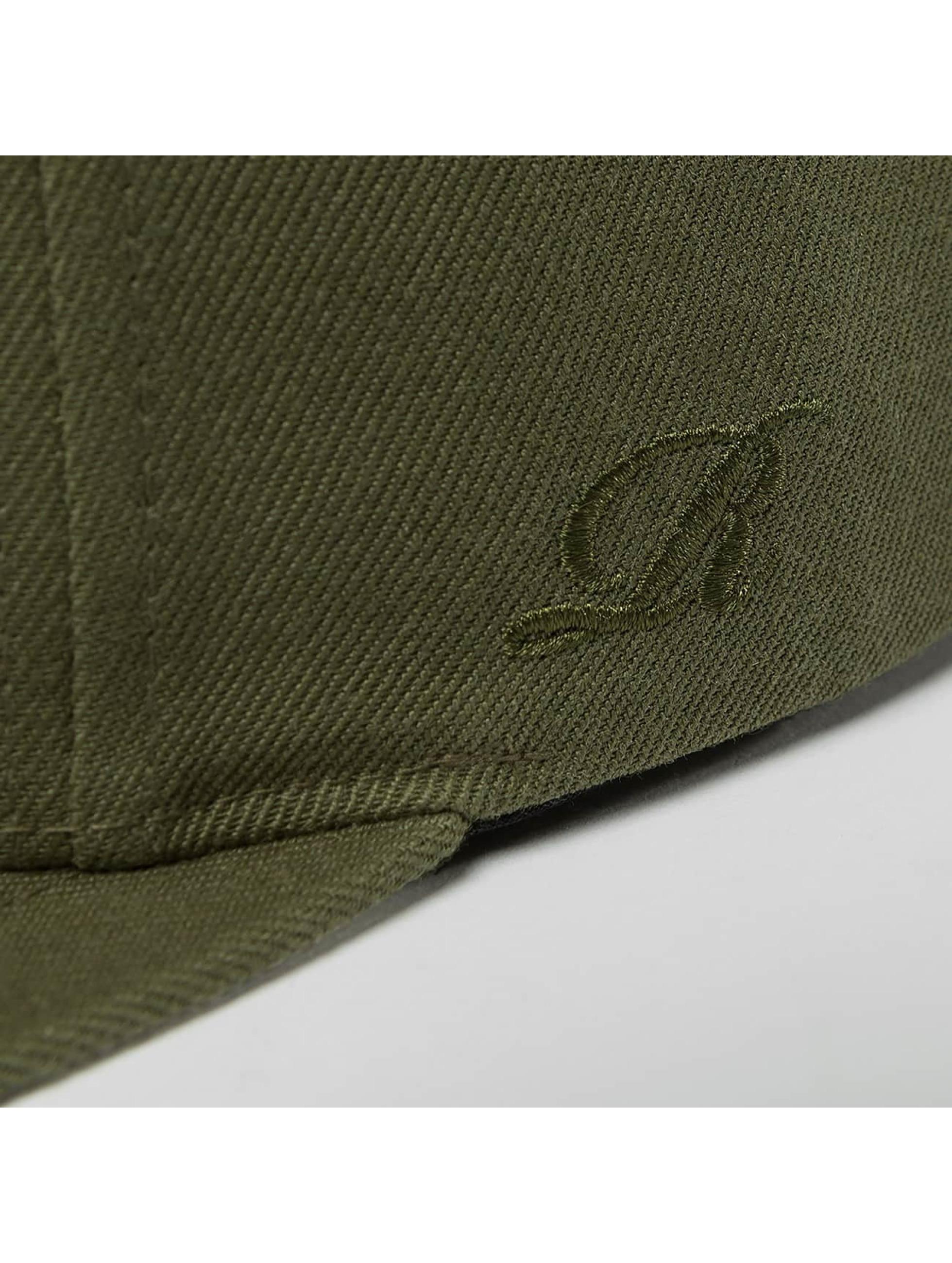 Reell Jeans snapback cap Base olijfgroen