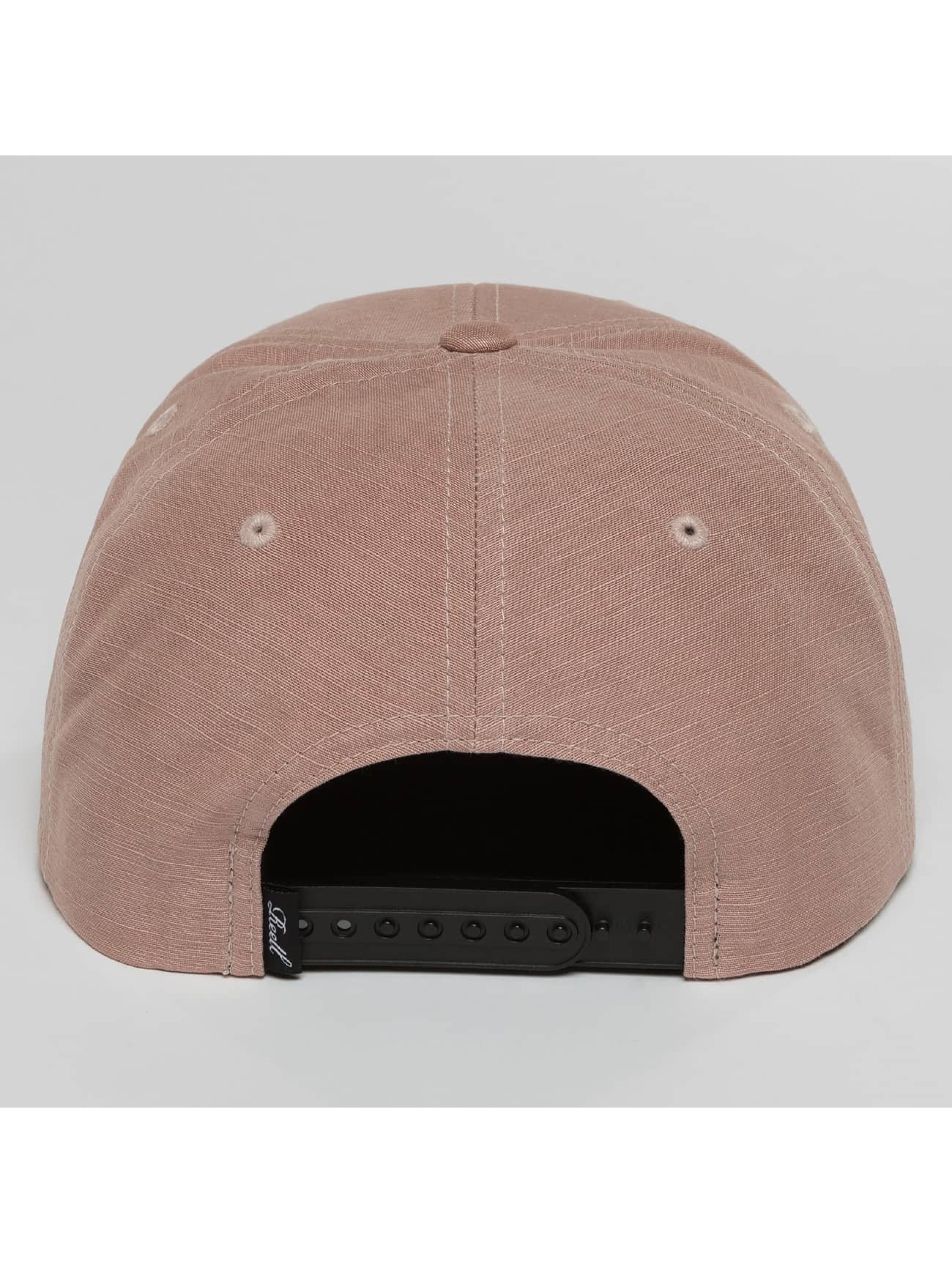 Reell Jeans Snapback Cap Suede rosa