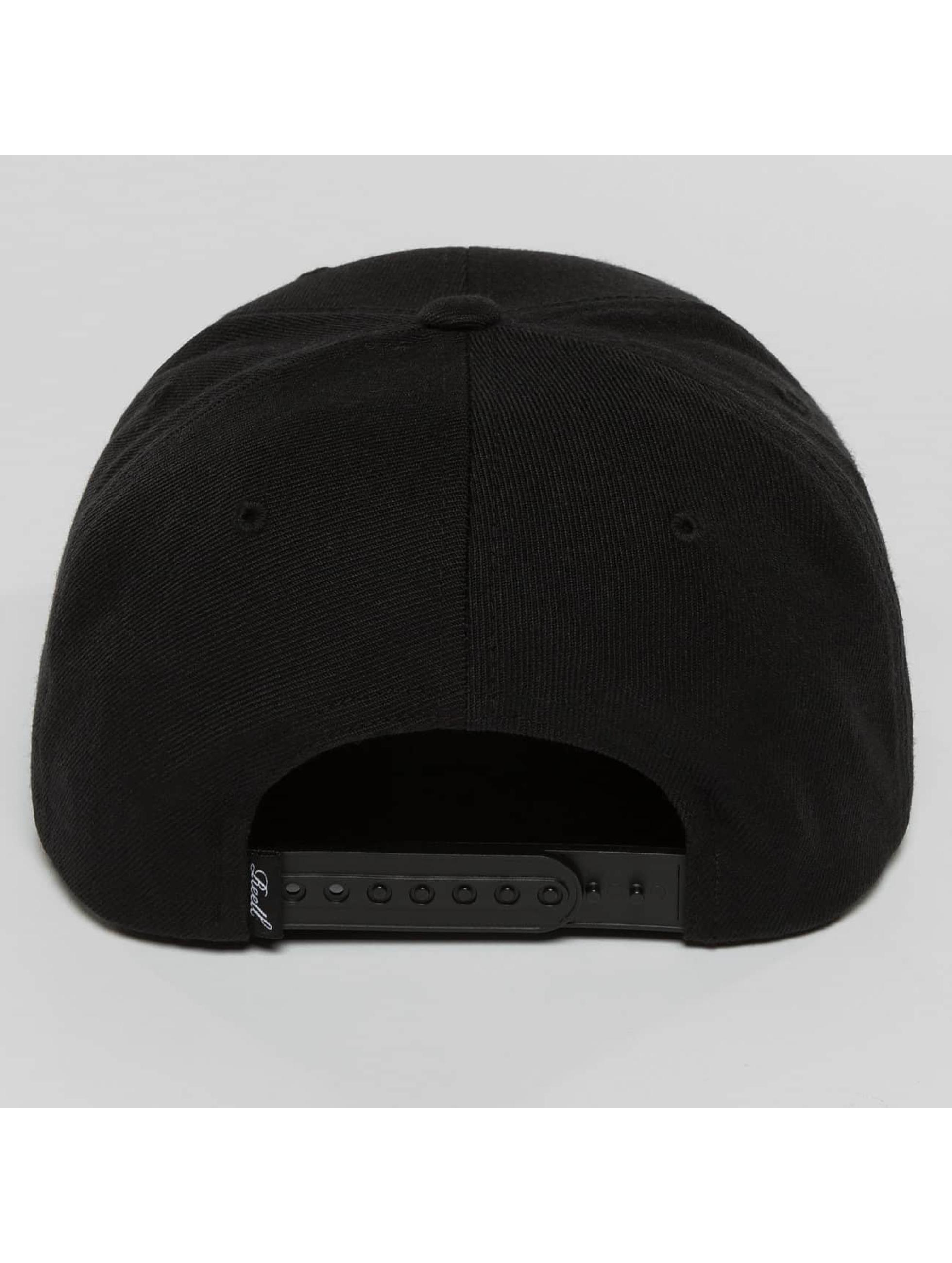 Reell Jeans Snapback Cap Base schwarz