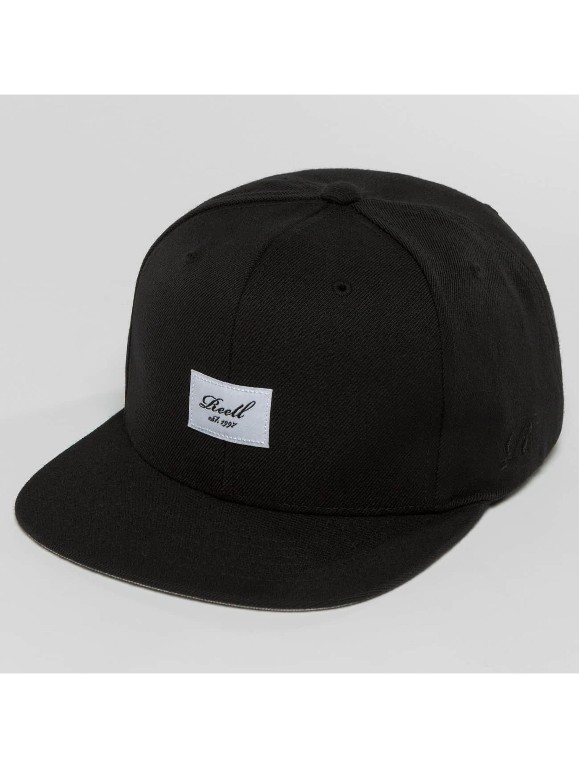 Reell Jeans snapback cap Base zwart